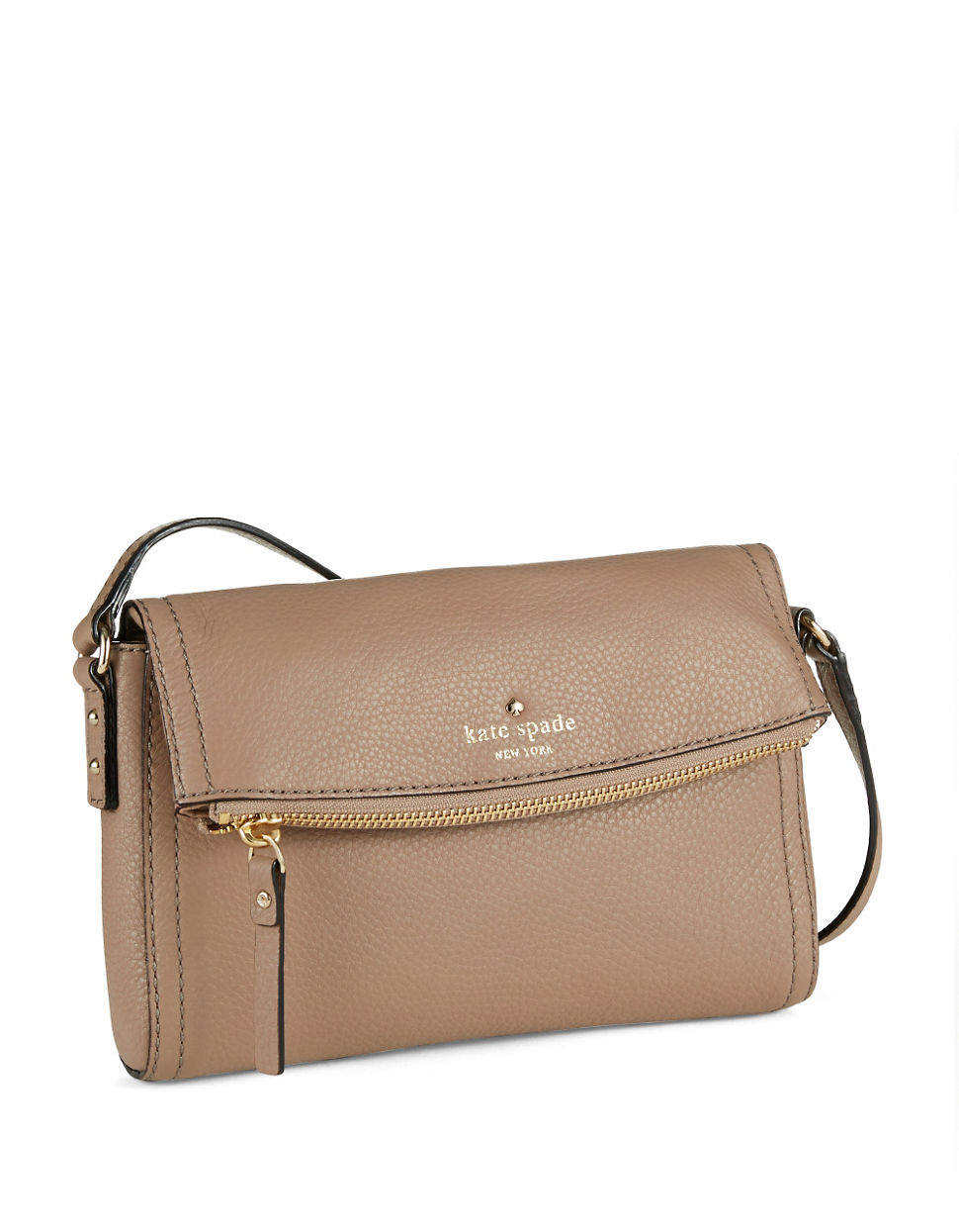 huge discount enjoy big discount great quality Kate Spade Mini Carson Crossbody Bag in Brown - Lyst