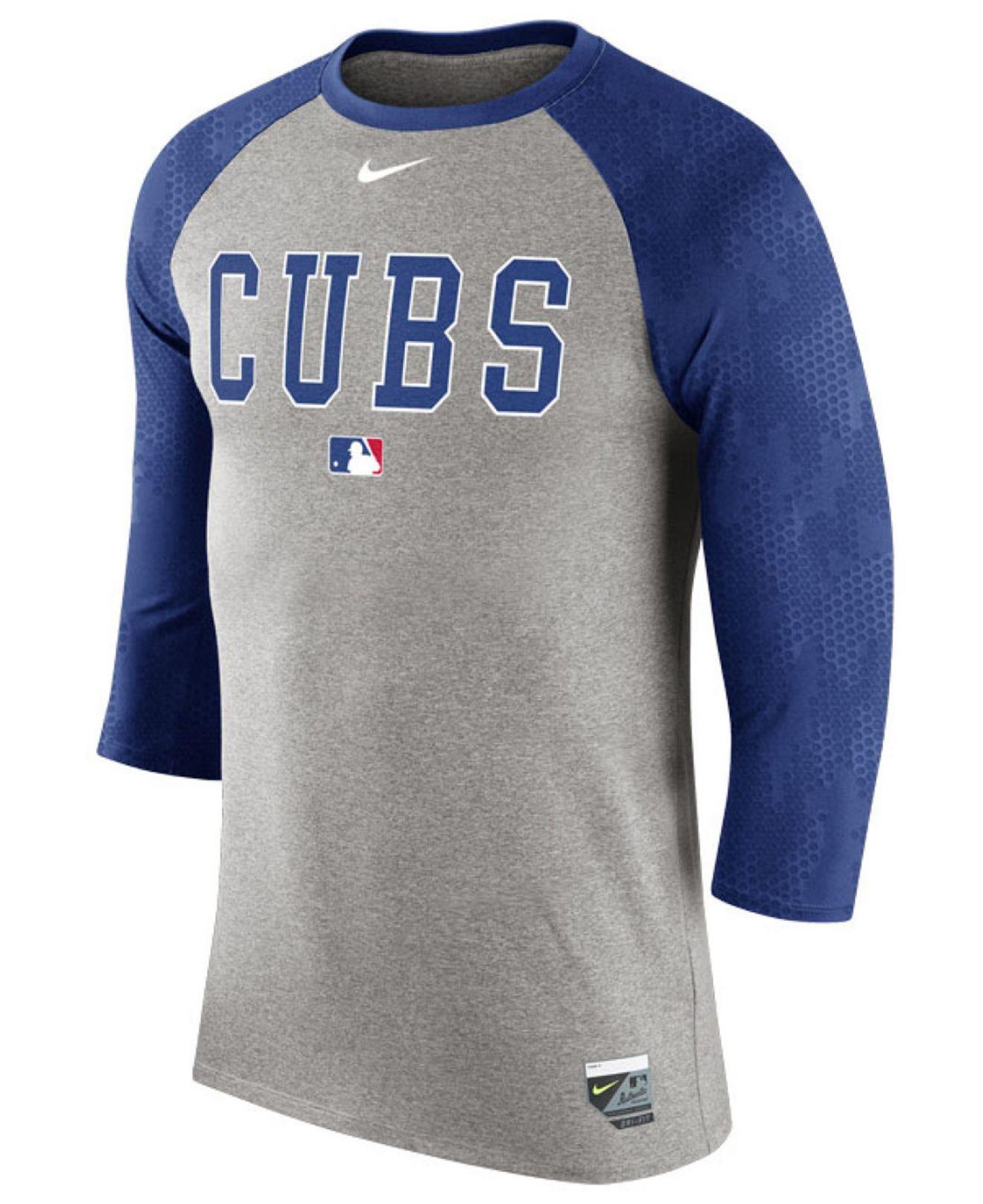 43fd9033 Nike Men's Chicago Cubs Ac Legend Raglan T-shirt in Pink for Men - Lyst