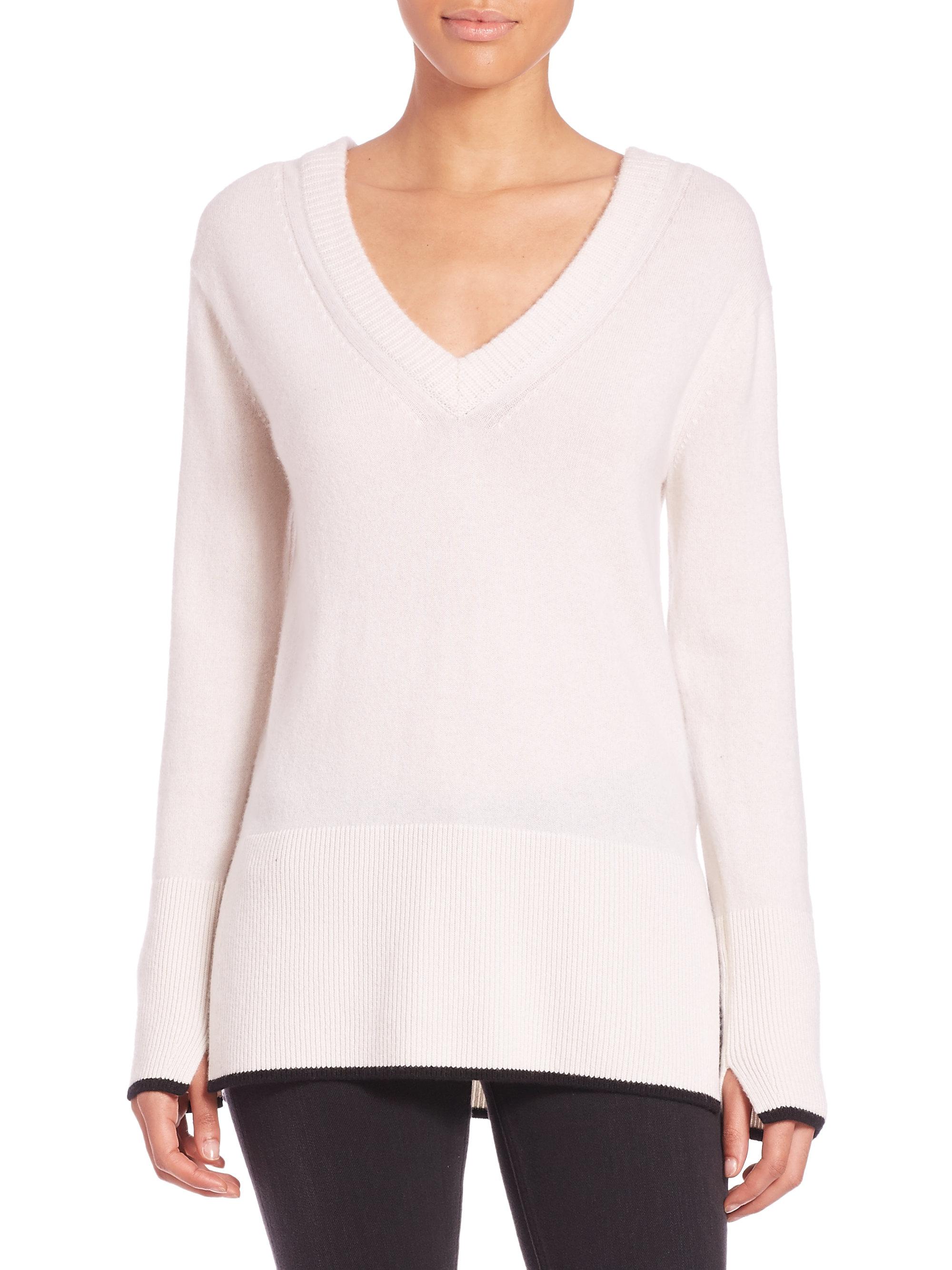 Clearance Buy Rag & Bone cashmere V-neck jumper Excellent Discount 100% Authentic wxcw1HVp