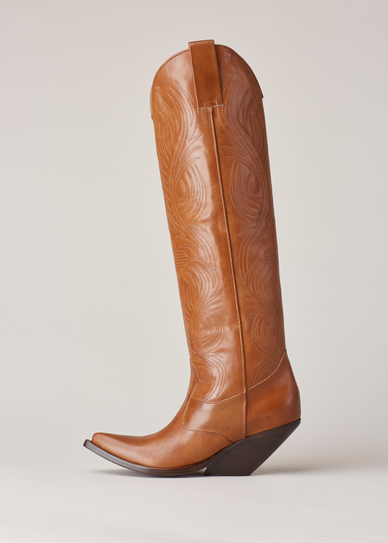 VetementsLeather Western Boots LLOty