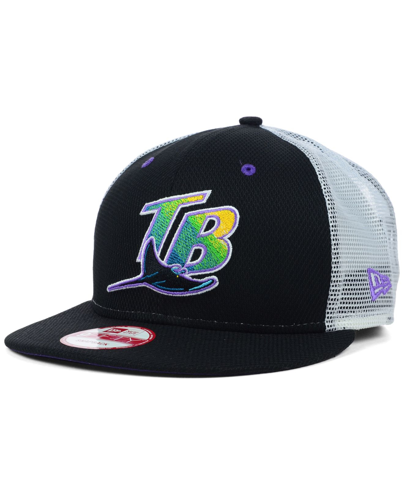 ab0ff525 where to buy tampa bay rays new era mlb blackout mesh 9fifty ...