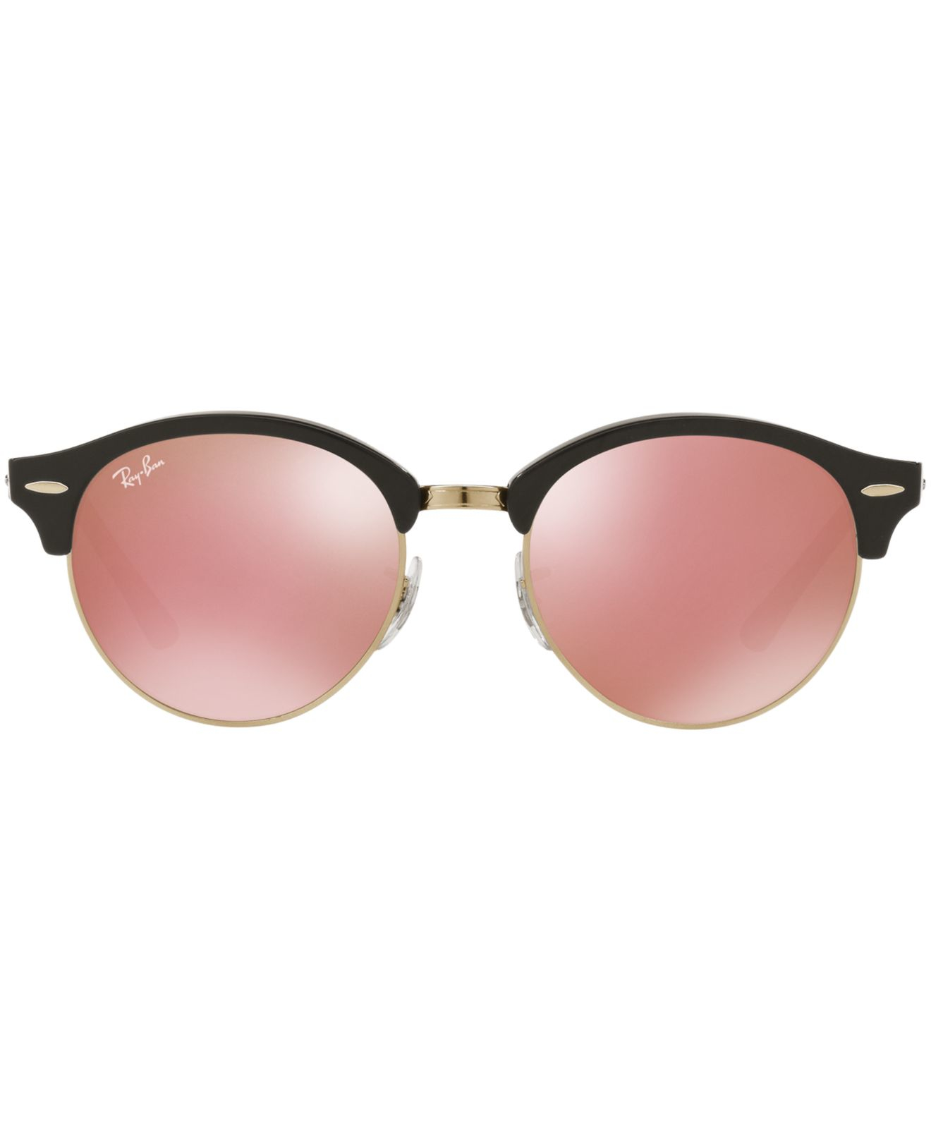 Ray Ban Black Mirrored Aviators Goti