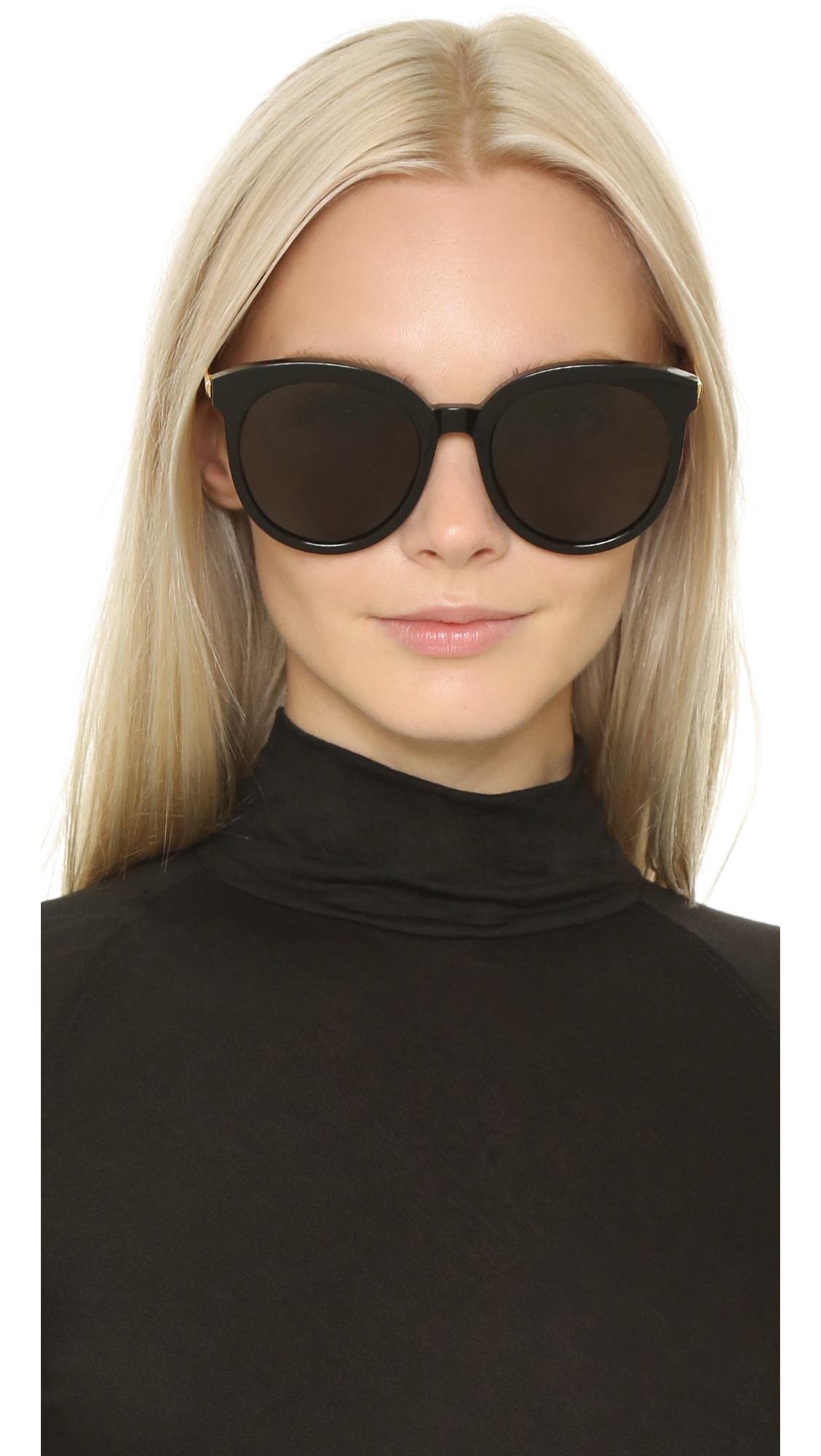 9296a977c1 Lyst - Gentle Monster Lovesome Sunglasses - Black grey in Black
