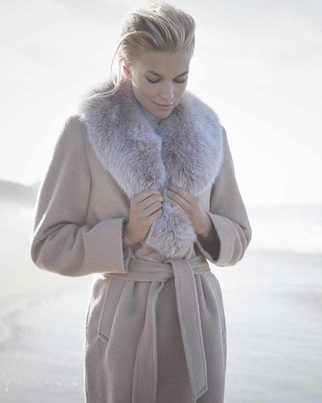 Cashmere Fur Coat