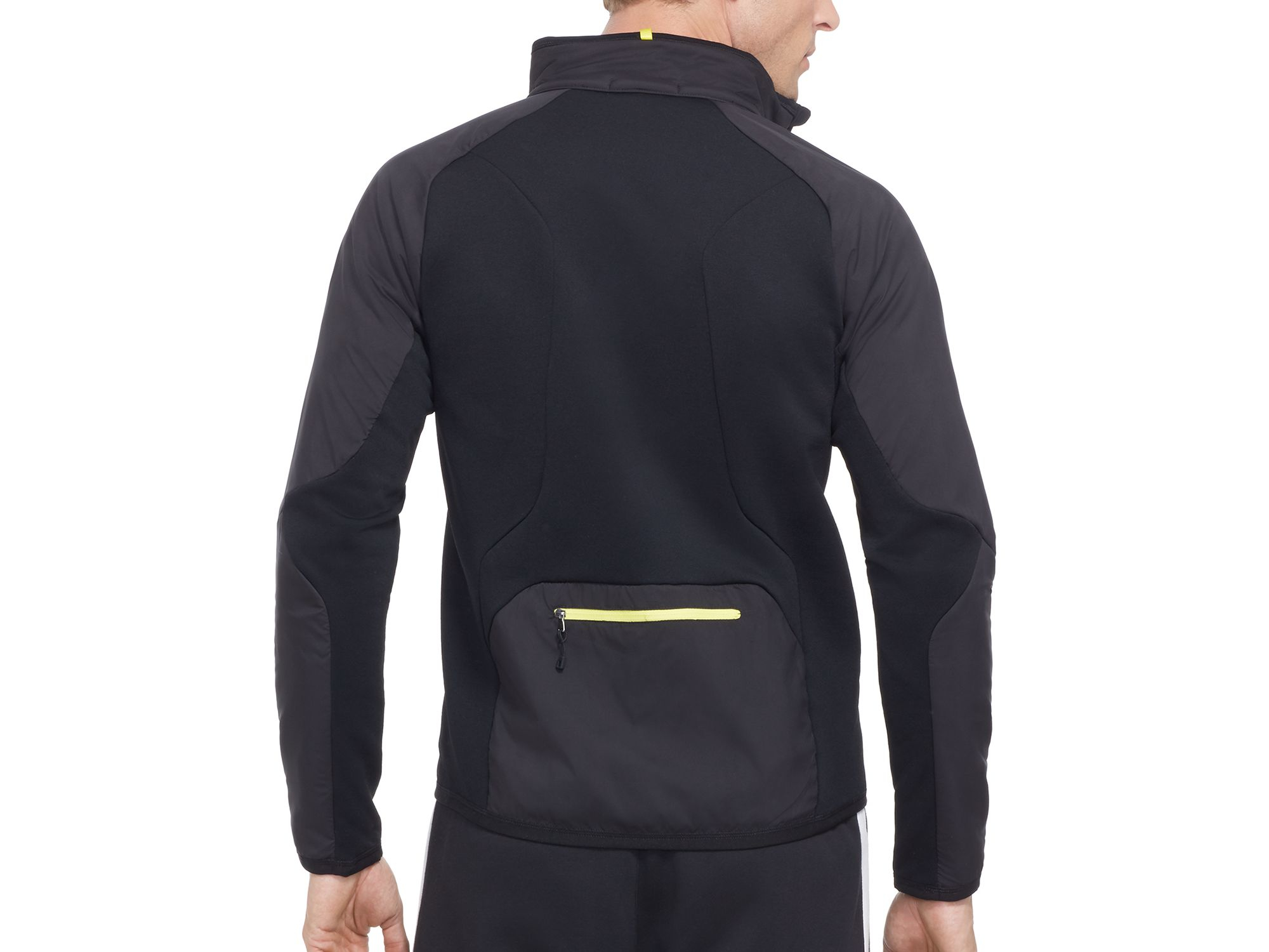 5ba89bc52 Pink Pony Polo Sport Hybrid Tech Jacket in Black for Men - Lyst