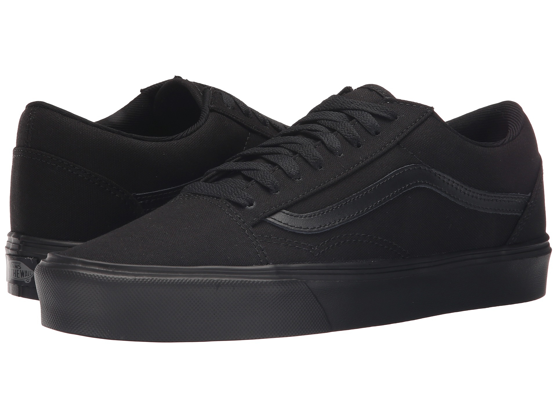 vans old skool lite in black for men lyst. Black Bedroom Furniture Sets. Home Design Ideas