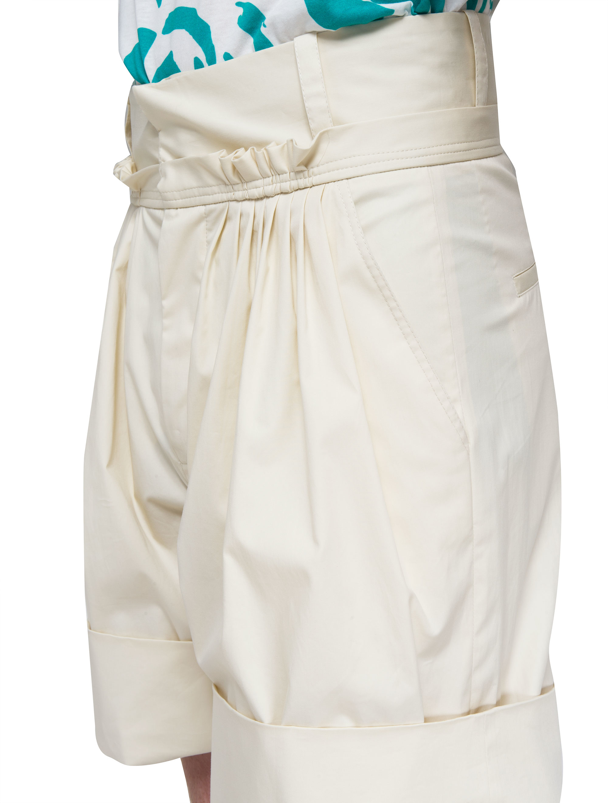 J.w.anderson Baggy Shorts in White for Men | Lyst