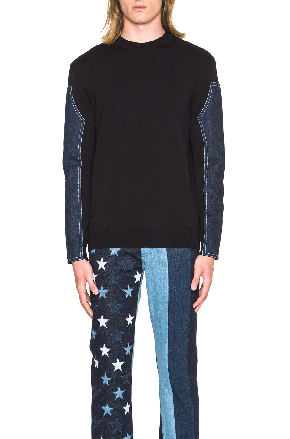 givenchy pullover in blue for men lyst