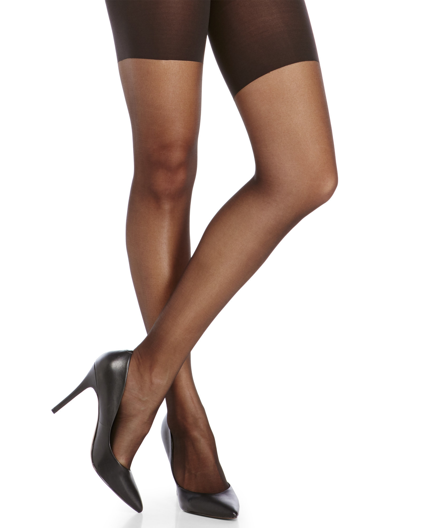 0f73ac7aa49 Lyst - Spanx High-Waist Sheer Tights in Black