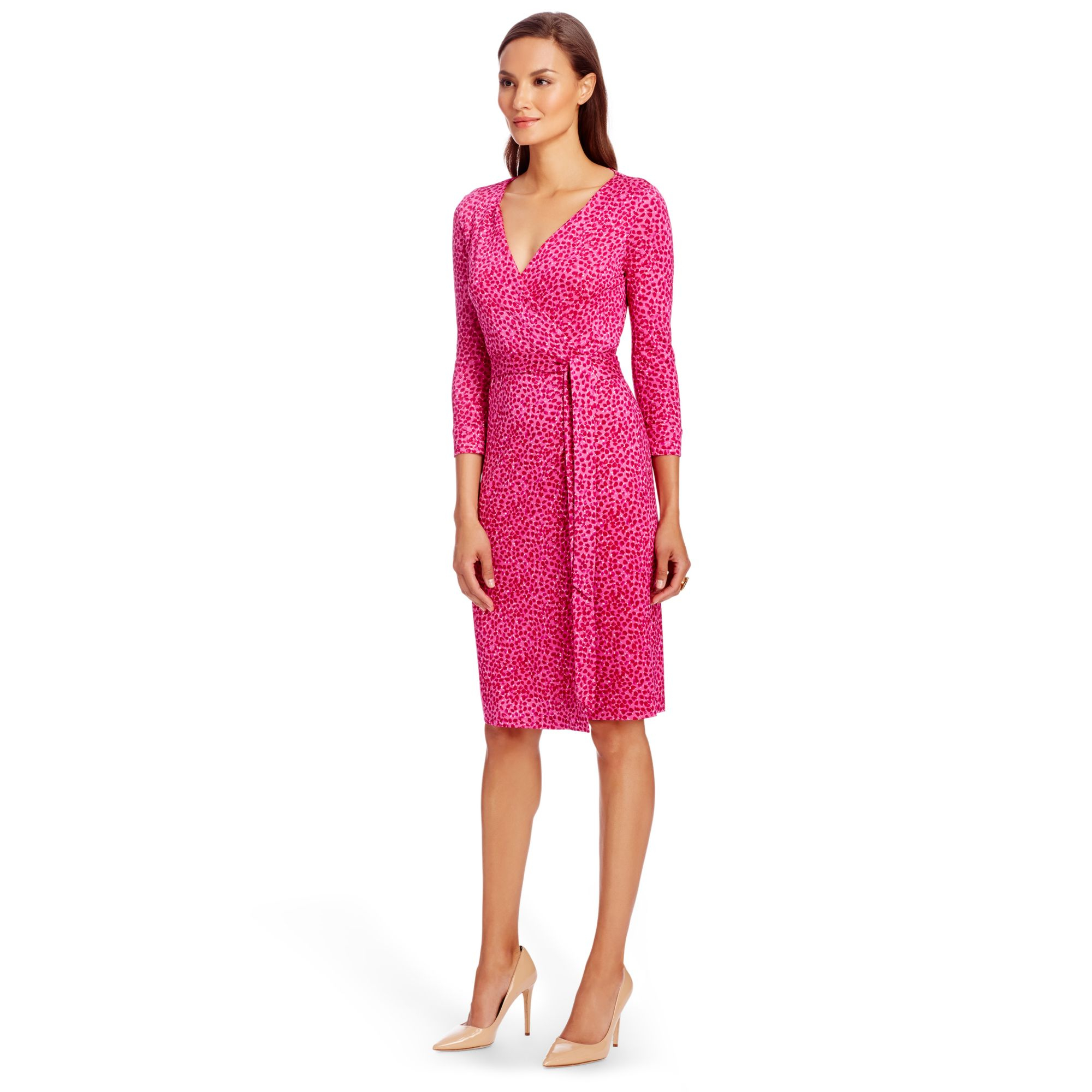 Diane von furstenberg New Julian Two Silk Jersey Wrap Dress in ...