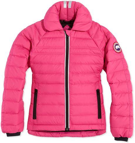 Canada Goose Pink Coat
