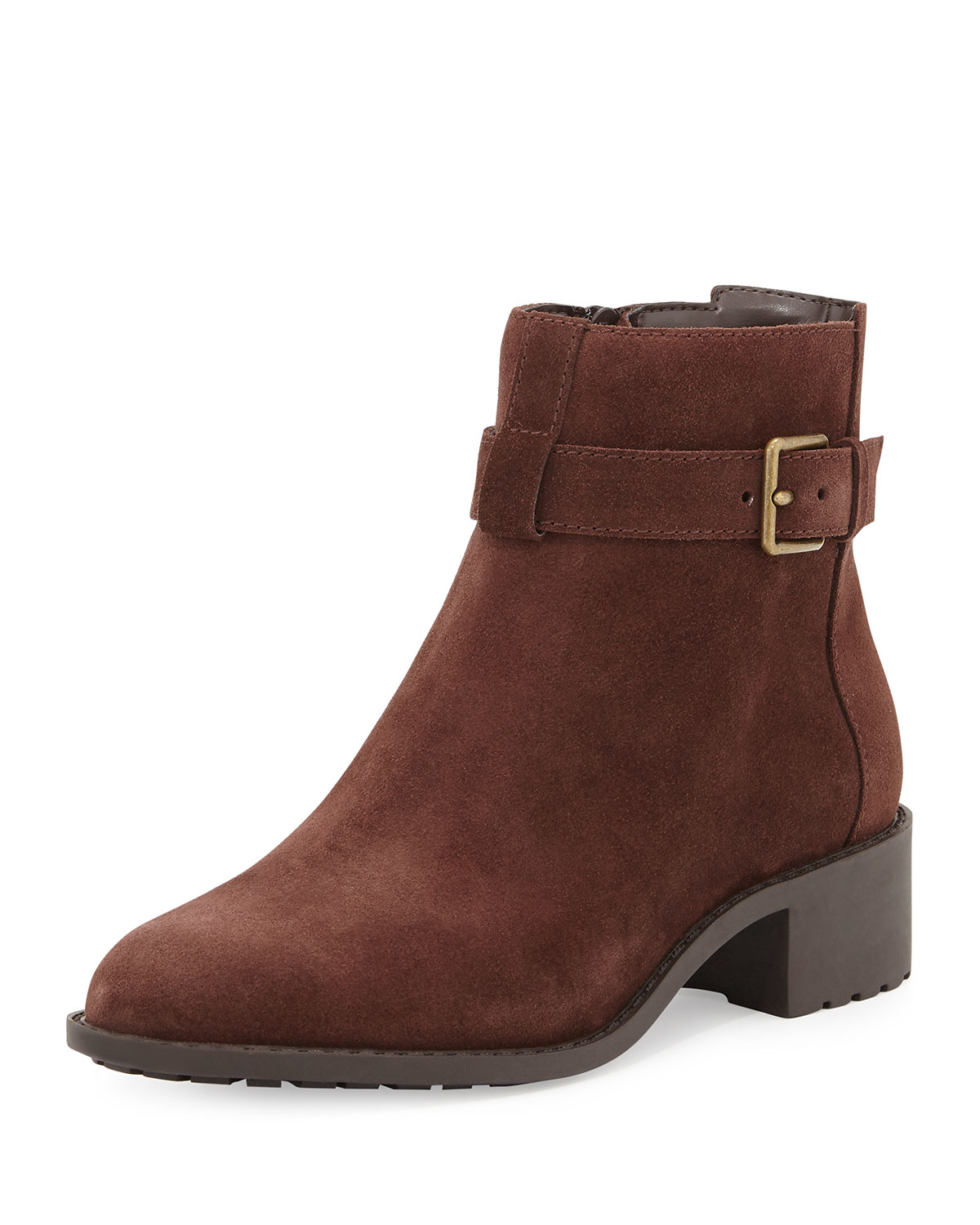 cole haan putnam weather resistant ankle boot in brown lyst
