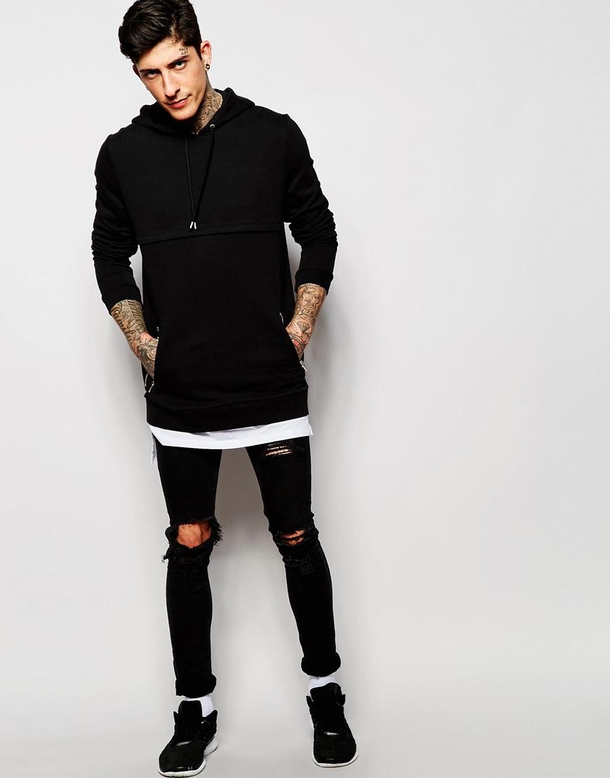 Black T Shirt Hoodie | Artee Shirt