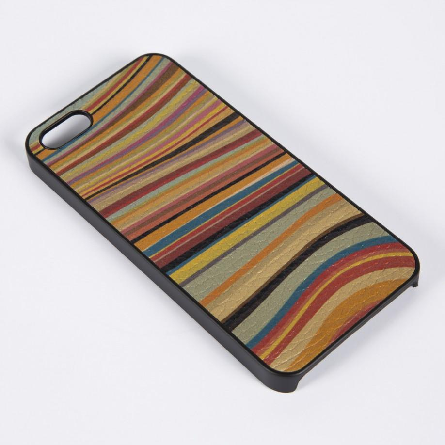 lyst paul smith 39 swirl 39 print leather iphone 5 case. Black Bedroom Furniture Sets. Home Design Ideas
