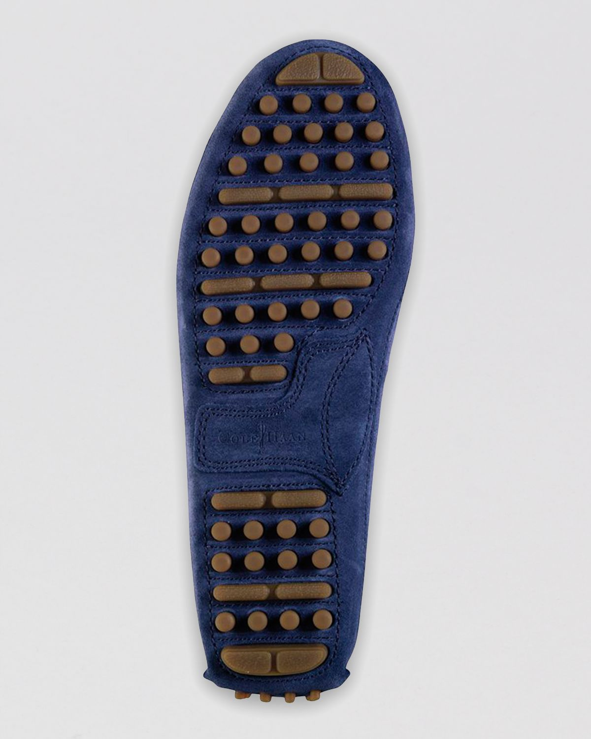 e5c97bac211 Lyst - Cole Haan Grant Canoe Camp Suede Moc Driving Loafers in Blue ...