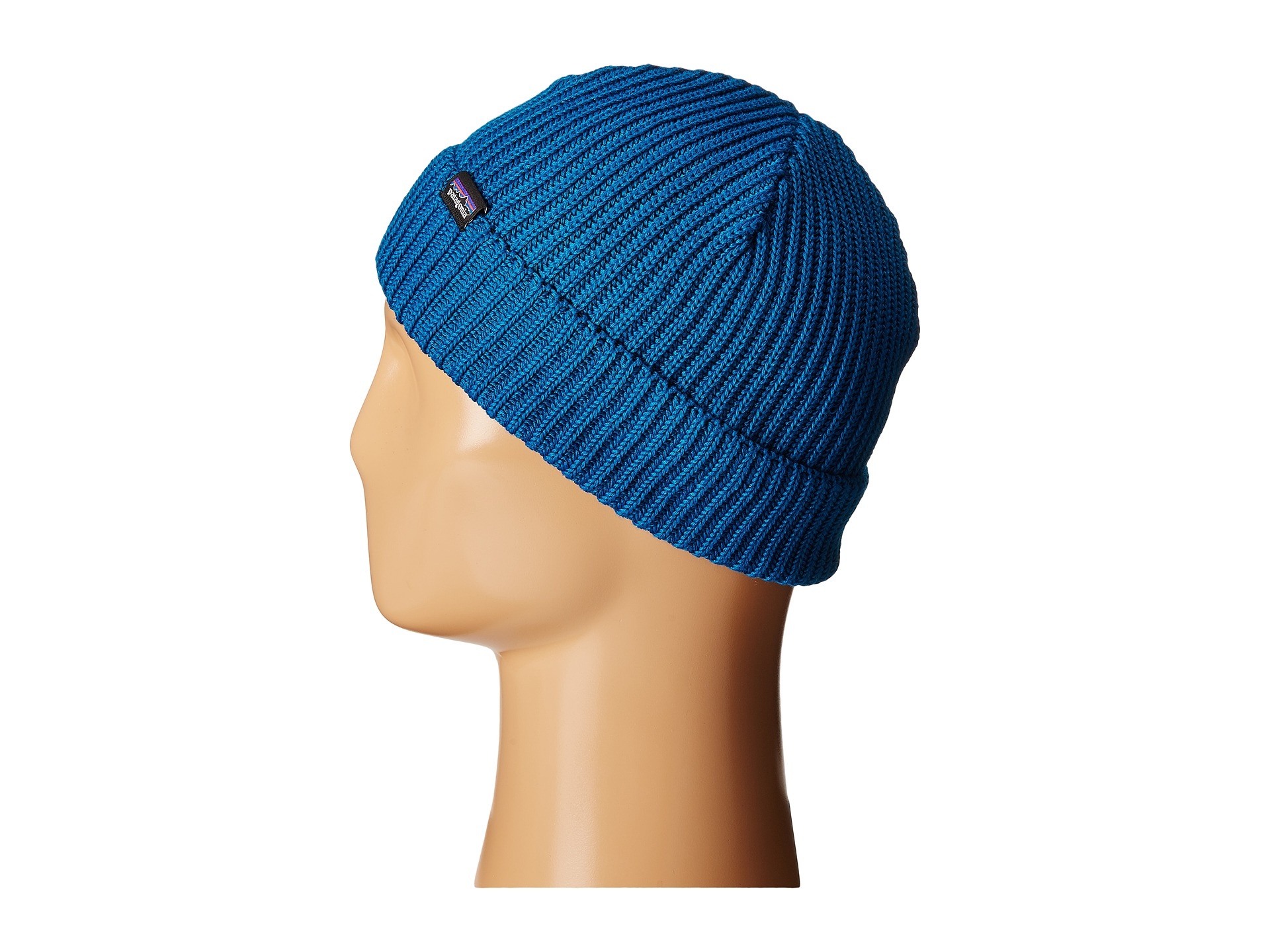 Lyst - Patagonia Fishermans Rolled Beanie in Blue for Men 8347bc3e27f