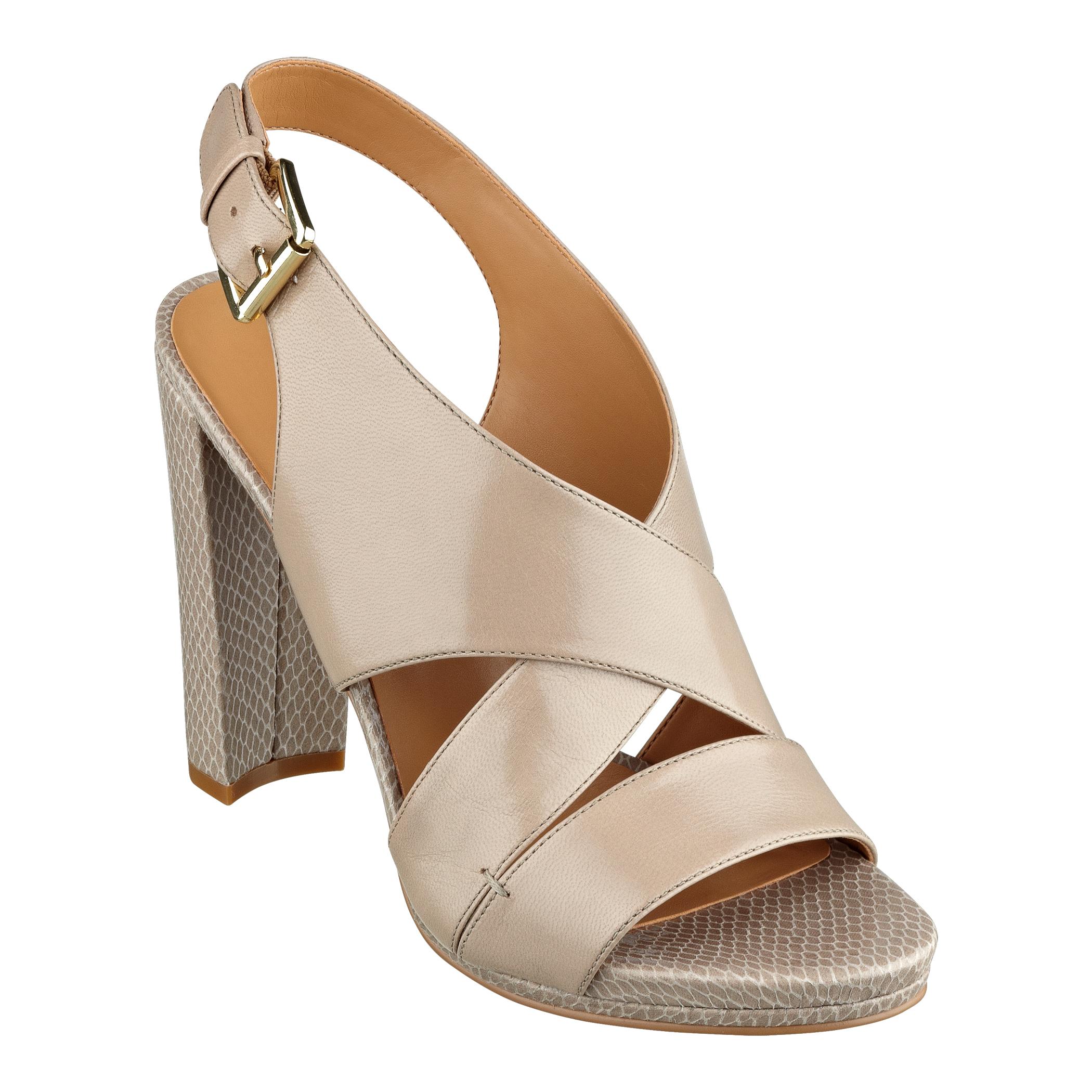 Lyst Nine West Wade Platform Sandals In Brown