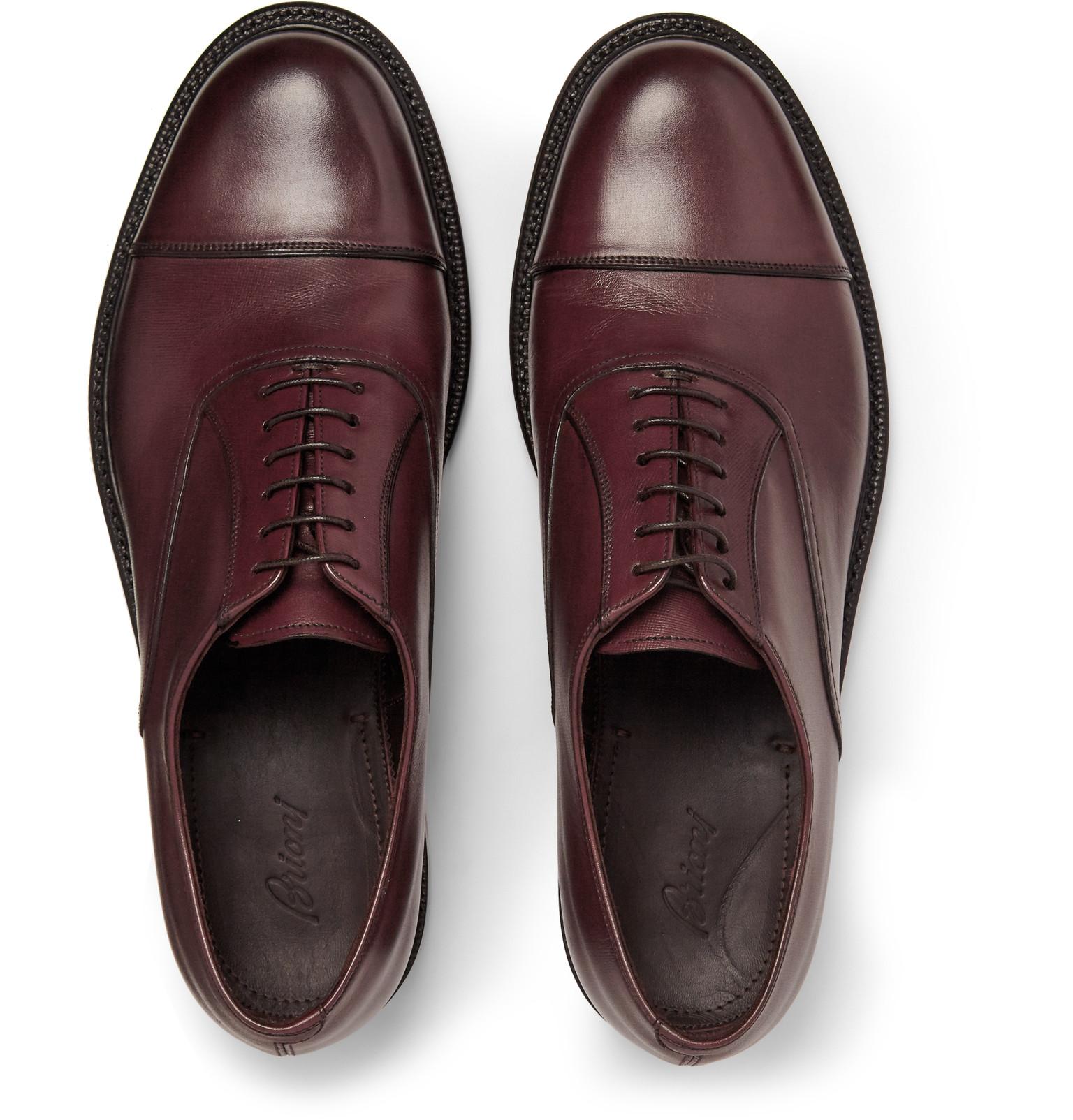 Suede Oxford Shoes Brioni TeDpJ