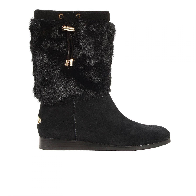 Lyst - Michael Kors Boots Woman in Black
