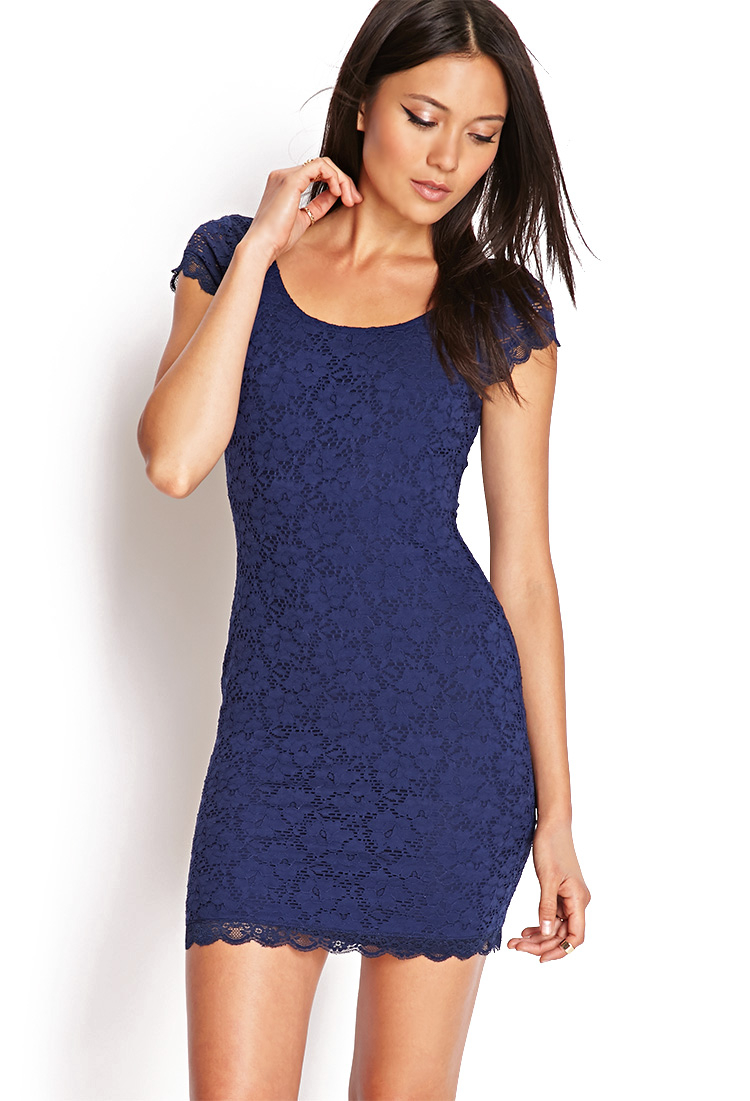 78d35ff85b1 Navy Blue Bodycon Dress Forever 21 - Dress Foto and Picture