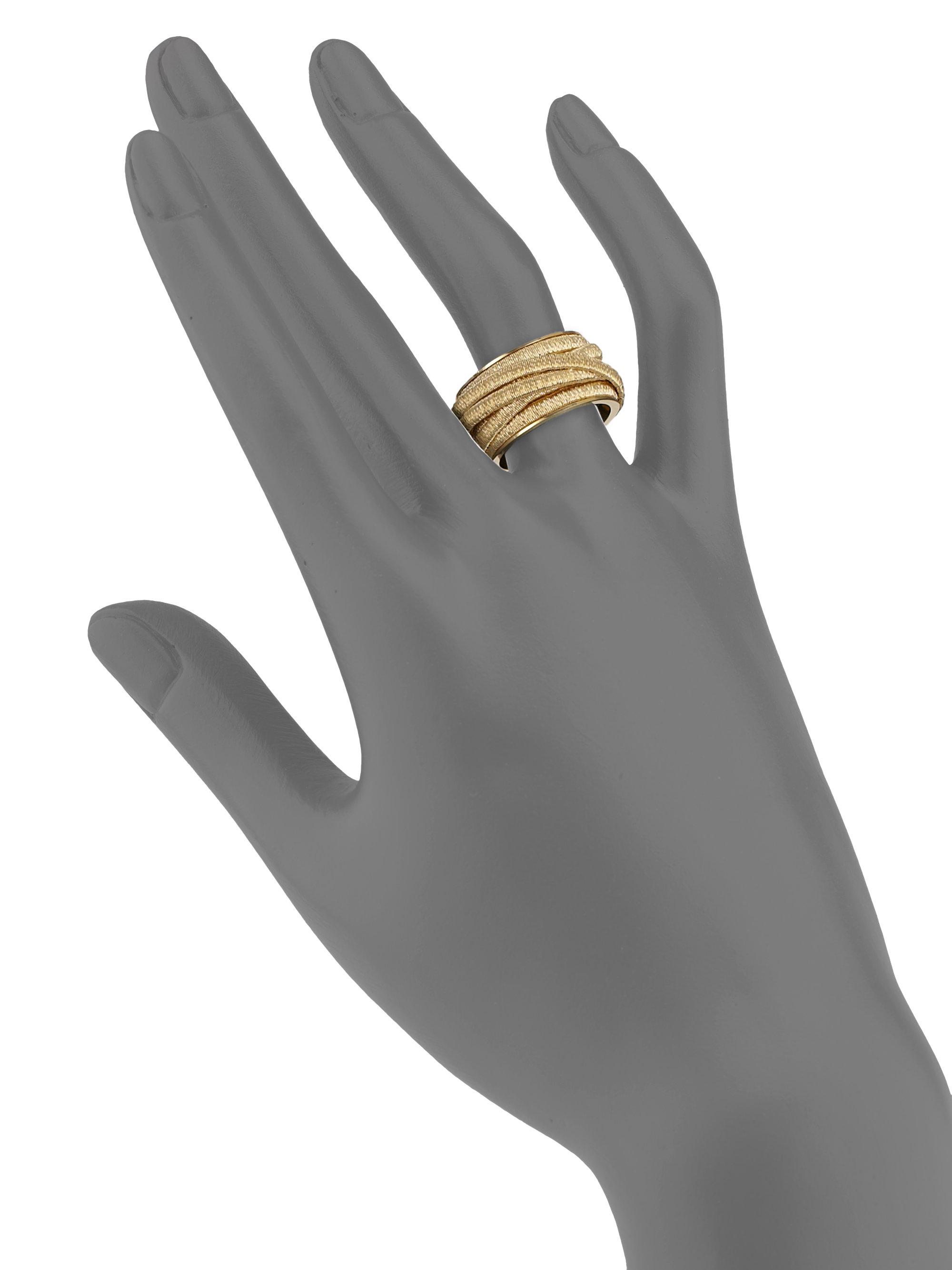 Marco Bicego Cairo 18k Gold Medium Ring gw4oXMxwc5