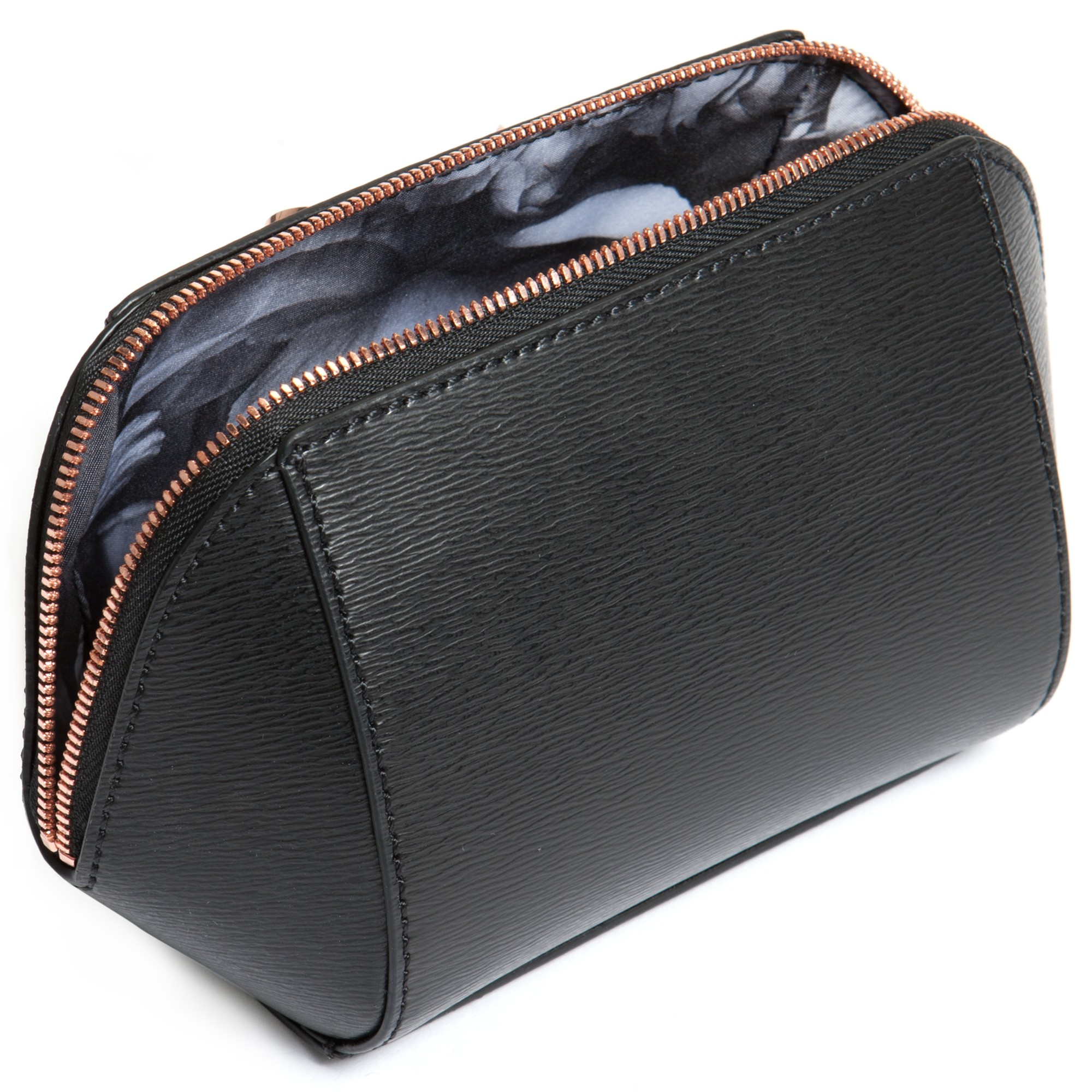 The OTTO Genuine Leather Makeup Bag is designed and crafted with the purpose of producing a product that is not only a result of top quality leather craftsmanship but also a convenient and modern accessory that one can rely on.