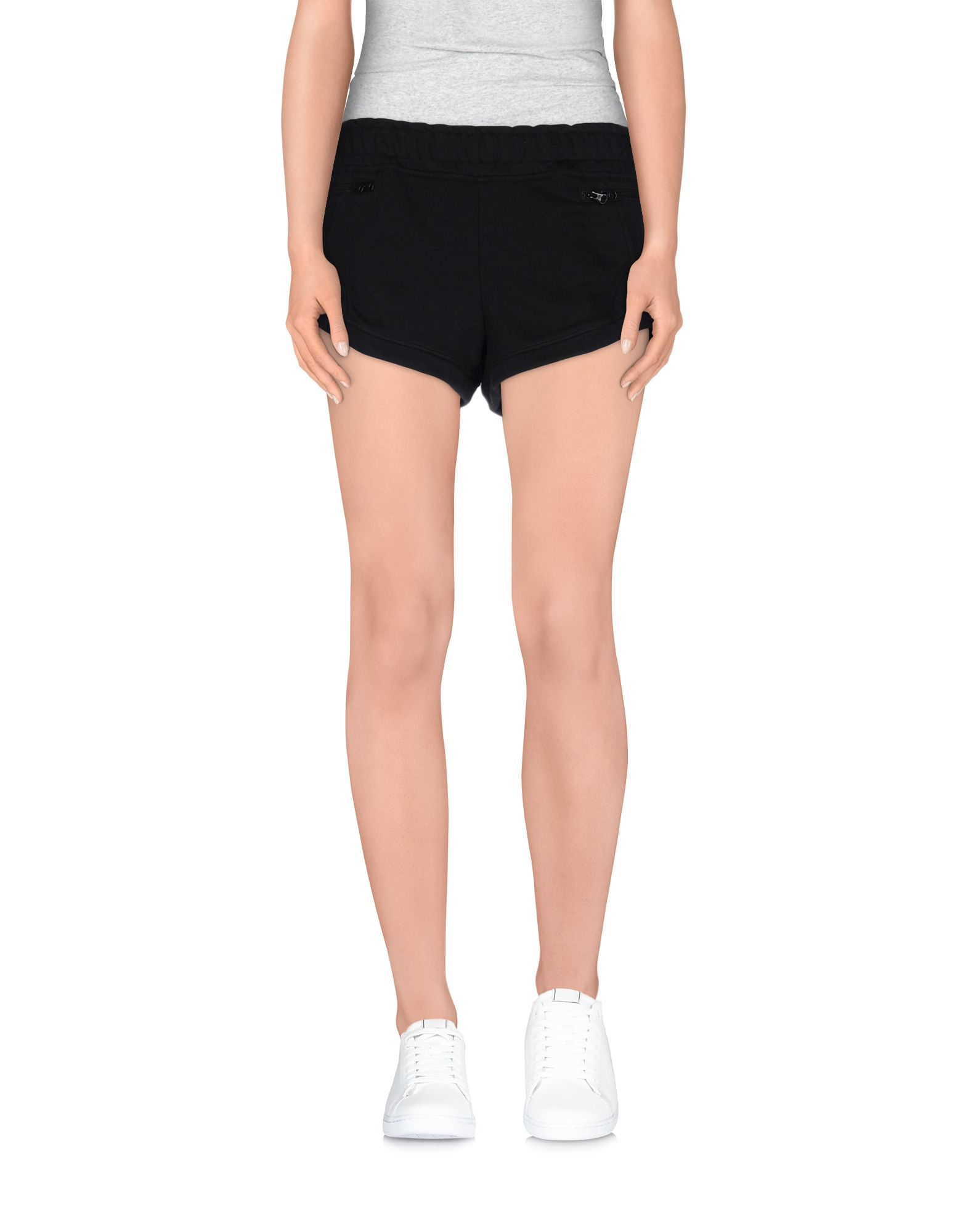 adidas by stella mccartney shorts in black lyst. Black Bedroom Furniture Sets. Home Design Ideas