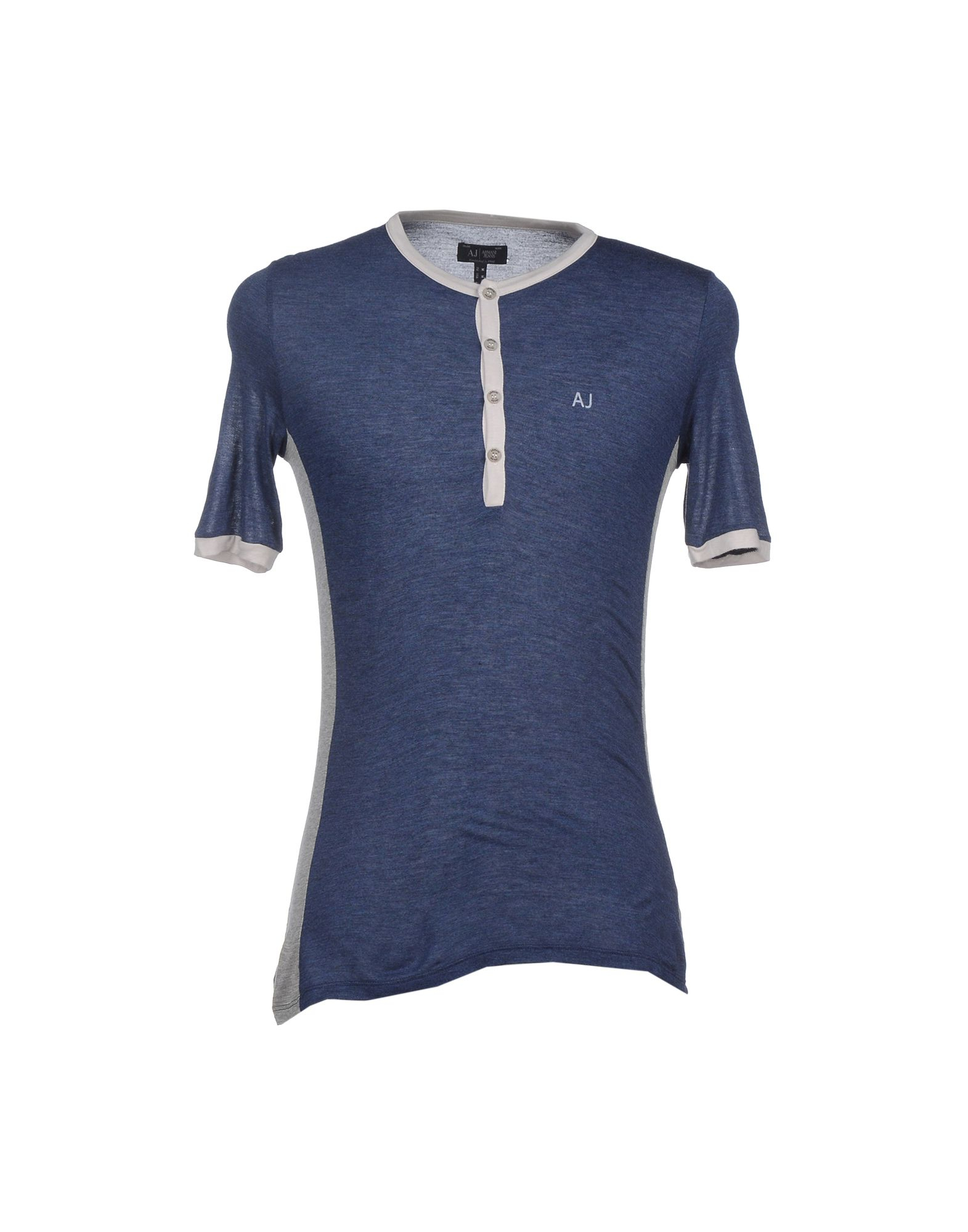 Armani Jeans T Shirt In Blue For Men Lyst
