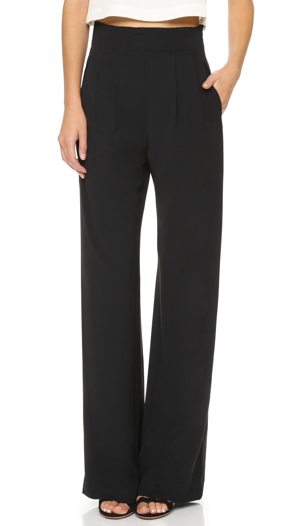 Sale Cheap Price Eldora Pant in Black Parker Footlocker Finishline Cheap Price OPTKKoEvEK