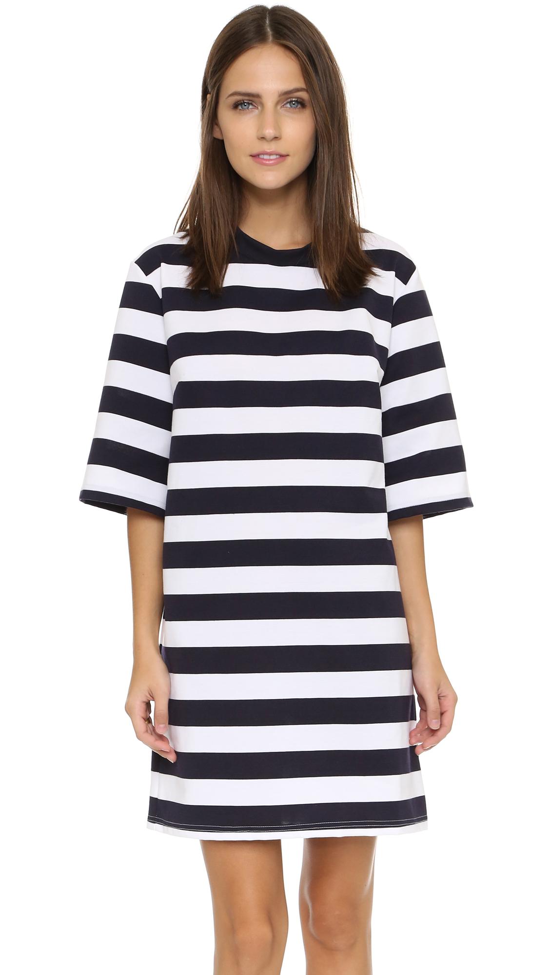 0d26115cf11 Lyst - The Fifth Label City Safari T Shirt Dress in Blue