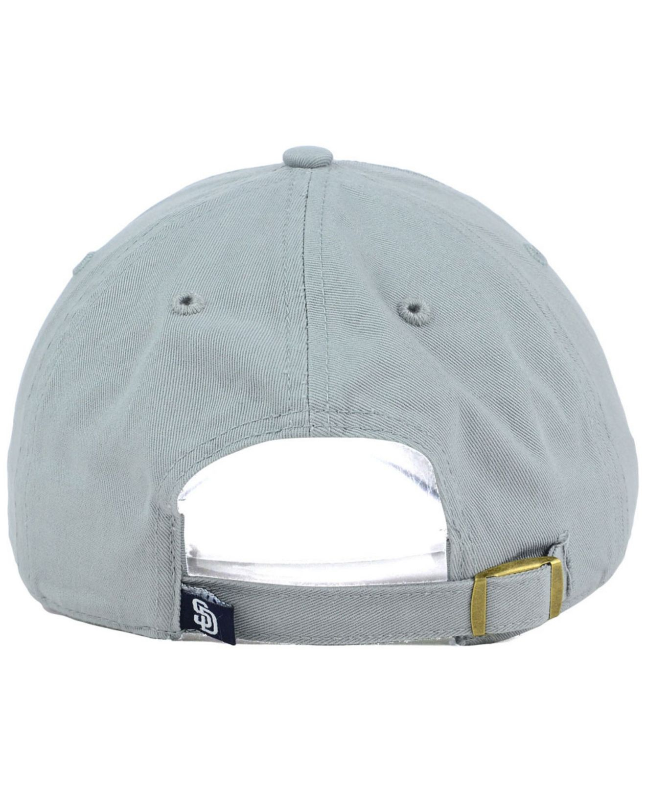 quality design 8a9e8 b80d9 ... 59fifty new era fitted hats navy gray under brim 7a16d f854b  purchase  lyst 47 brand san diego padres adjustable cap in gray for men 7b2b8 787c2