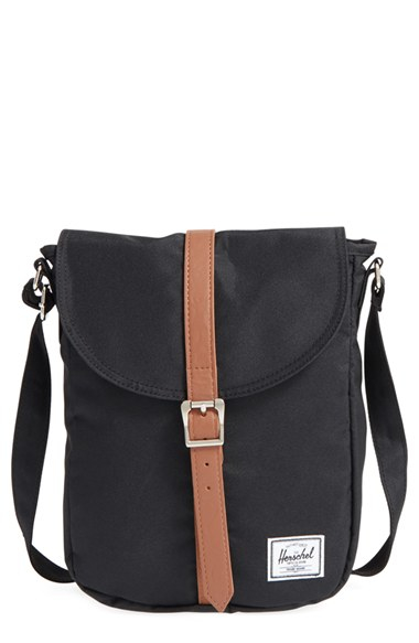 Lyst - Herschel Supply Co.  kingsgate  Crossbody Bag in Black 54585f4c653f3