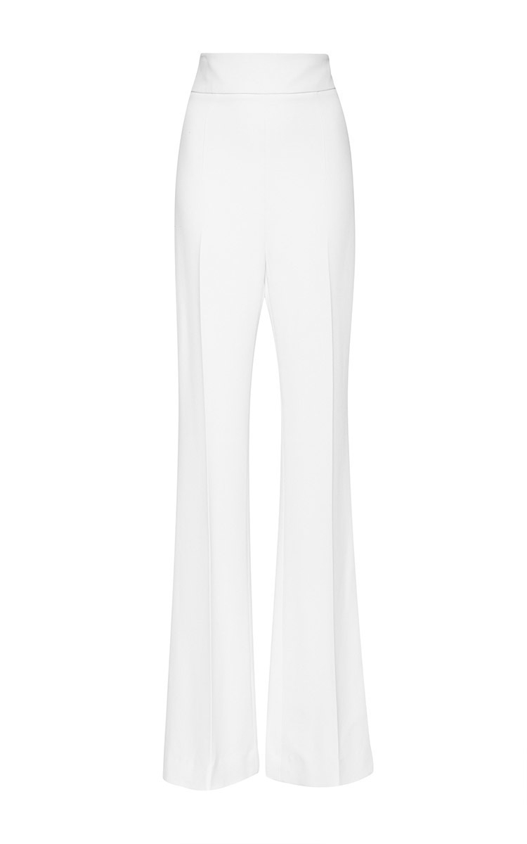 Cheap Many Kinds Of high waisted cropped trousers - White Cushnie et Ochs Reliable Cheap Price Free Shipping New Styles pvT9Q