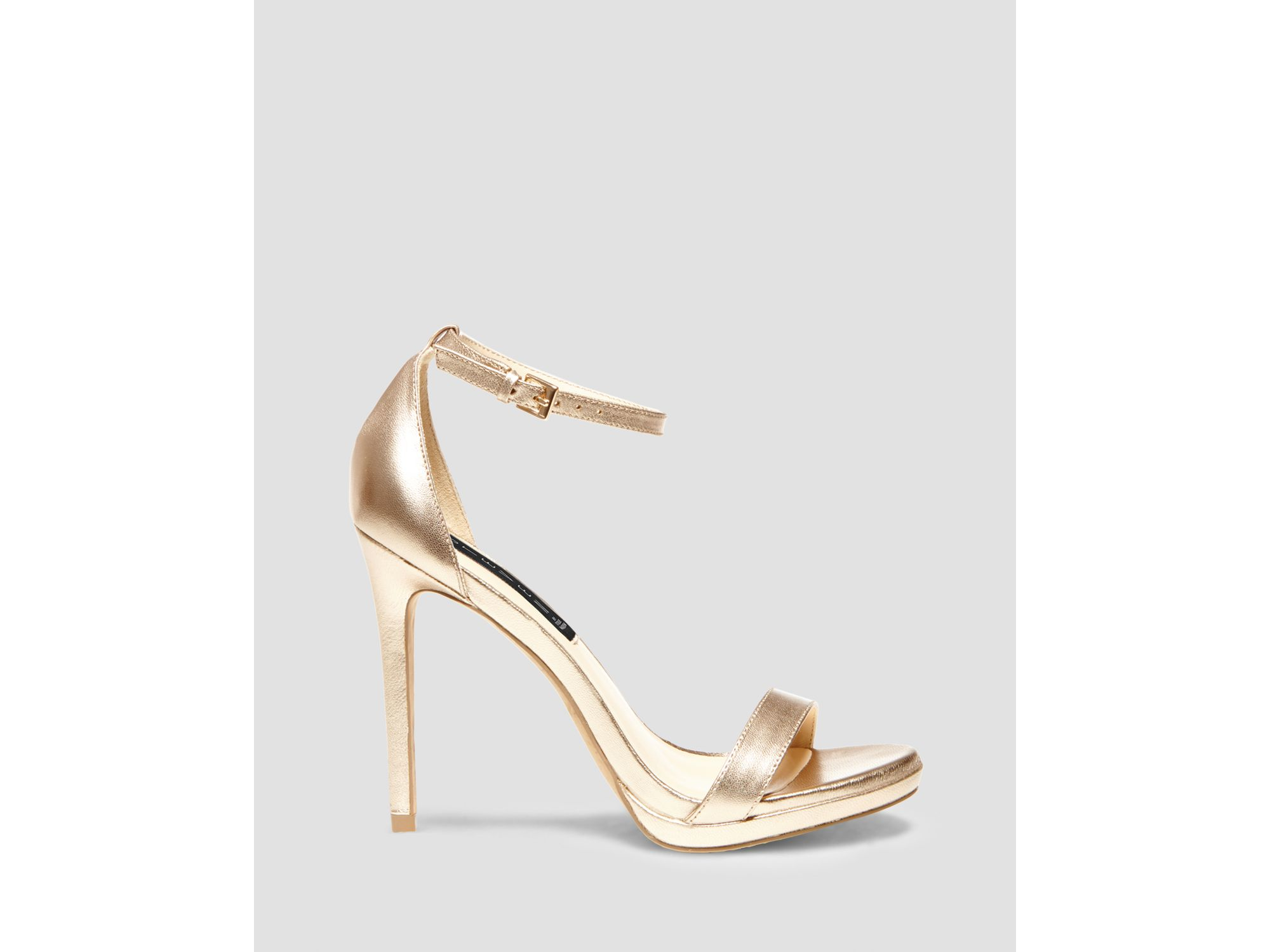 e74f4feaed9 Lyst - Steven by Steve Madden Sandals - Rykie Ankle Strap High Heel ...