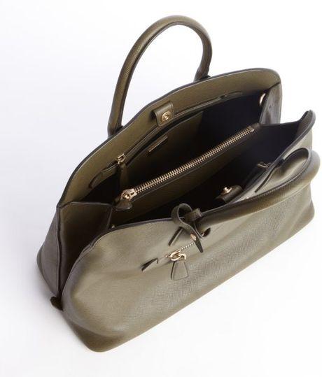 b578c5cb7420 Prada Olive Green Handbags | Casper's & Runyon's Shamrocks | Nook