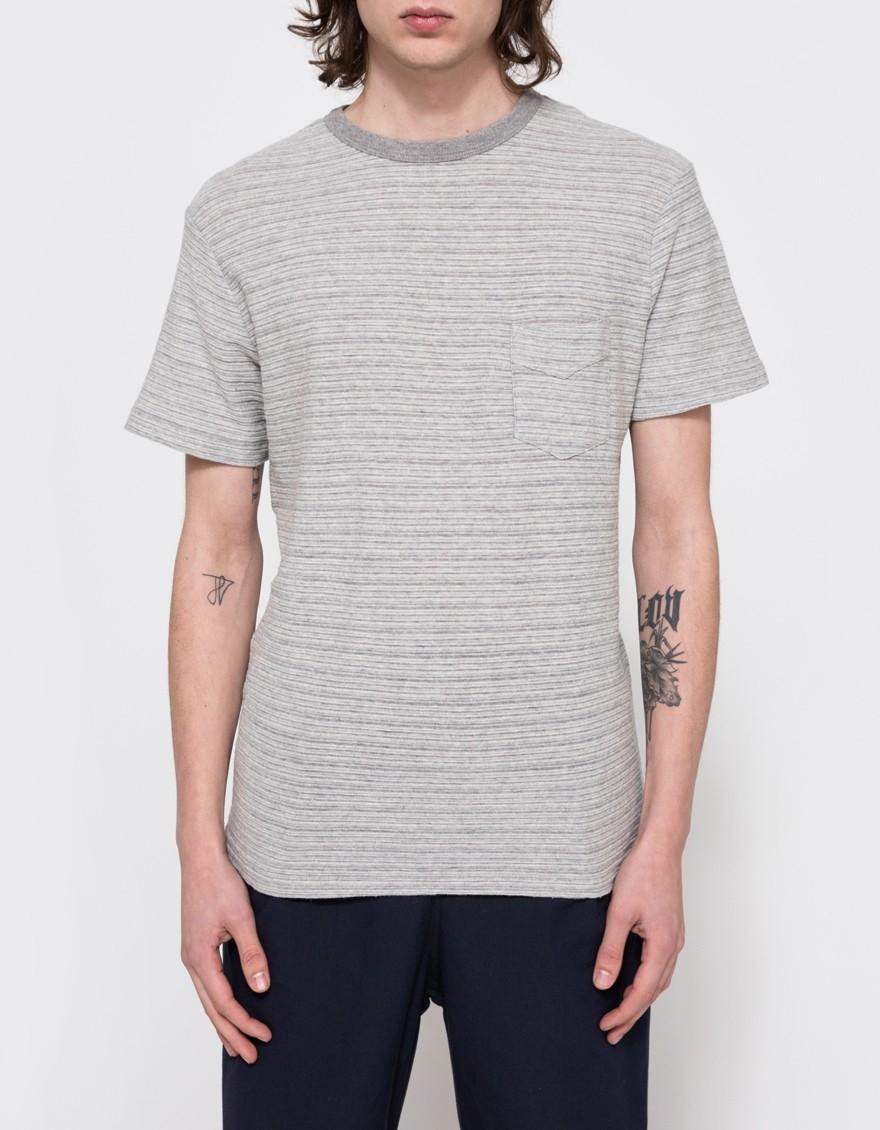 Shop Your Own Best Sale Sale Online pocket T-shirt - Grey Officine Generale Deals Cheap Price Clearance Big Discount Cheap Wholesale c2algU