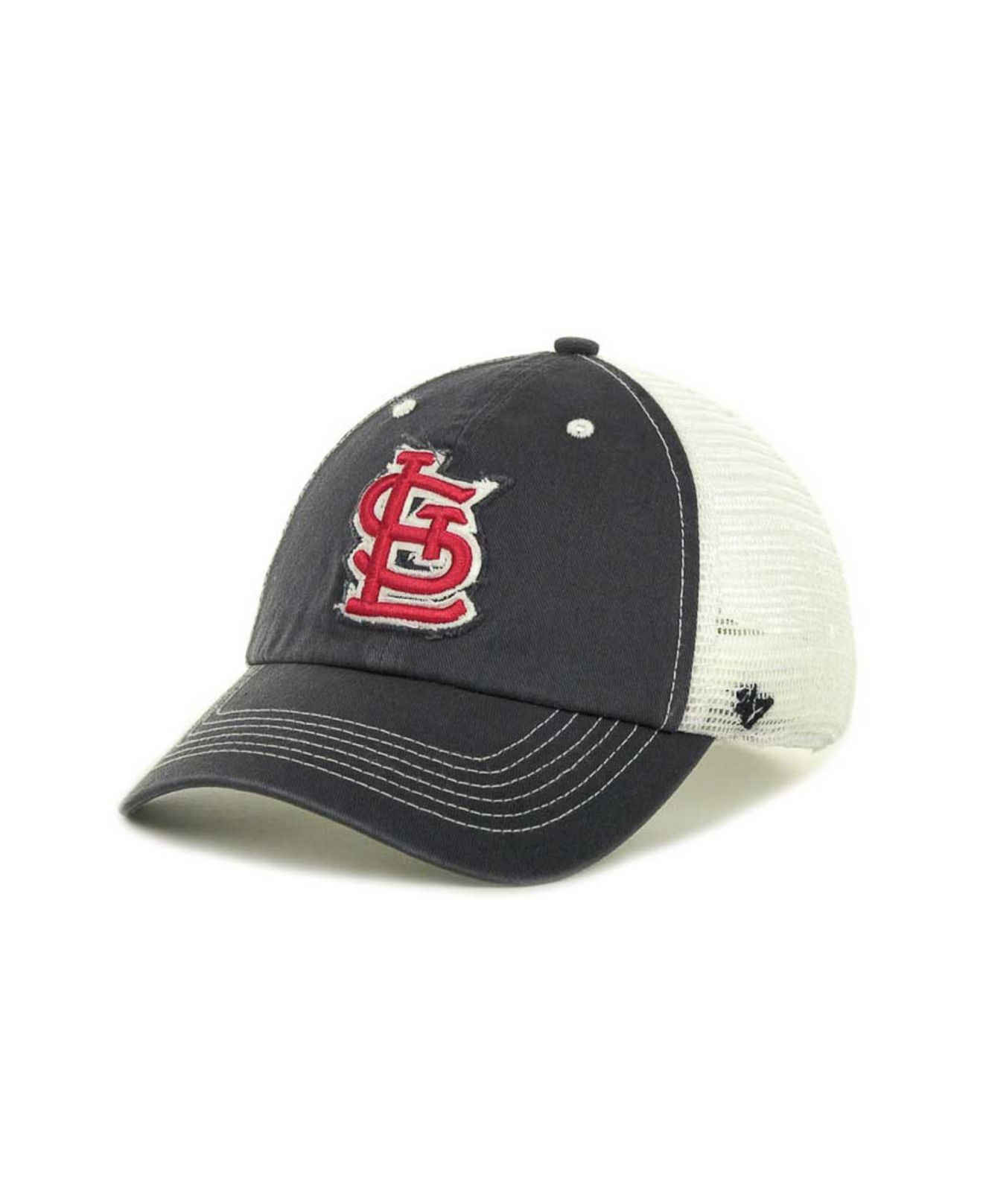 on sale 780c3 f7c4a 47 Brand St Louis Cardinals Blue Mountain Franchise Cap in Blue for ...