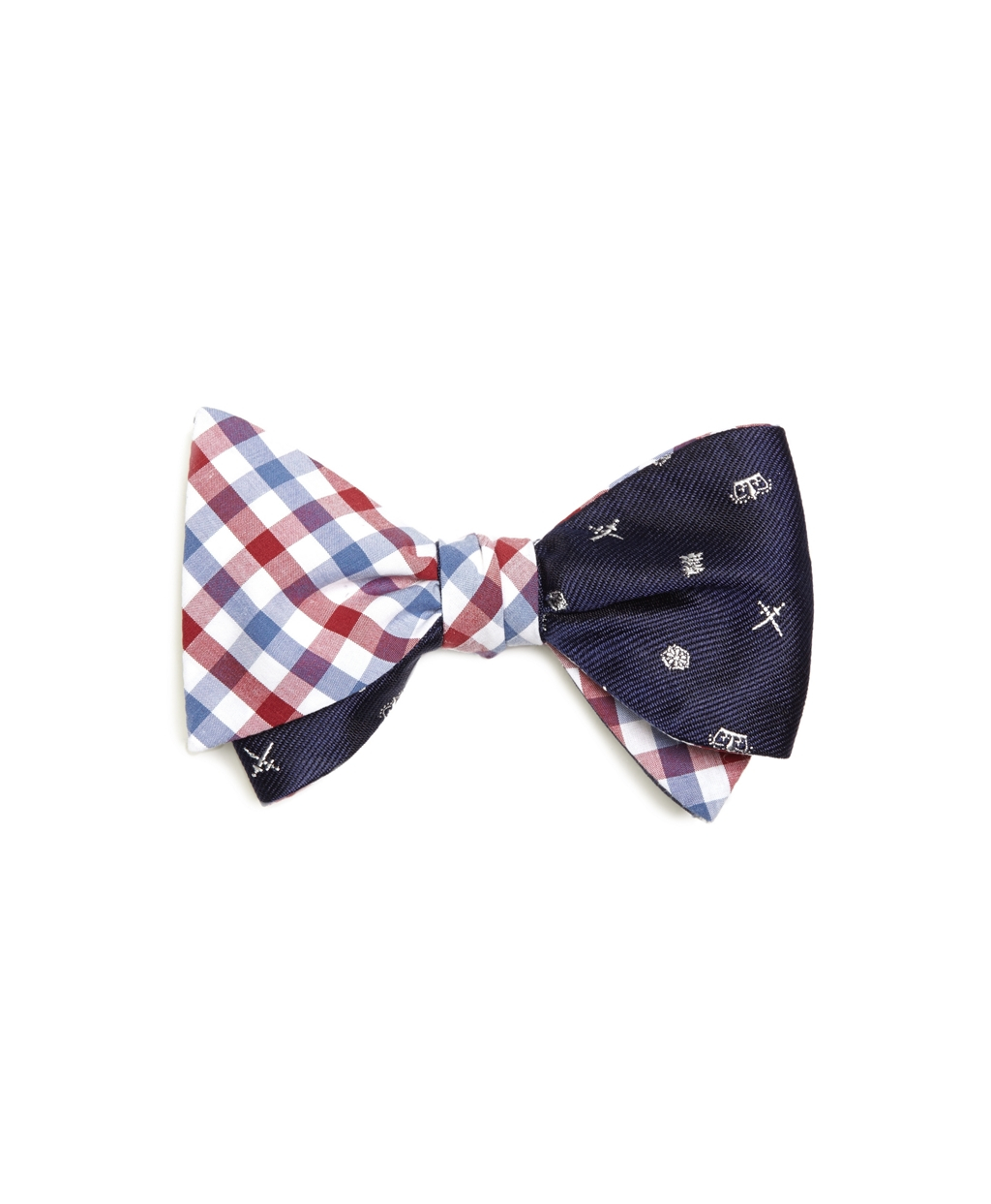 Lyst - Brooks Brothers Gingham With Heraldic Reversible ...