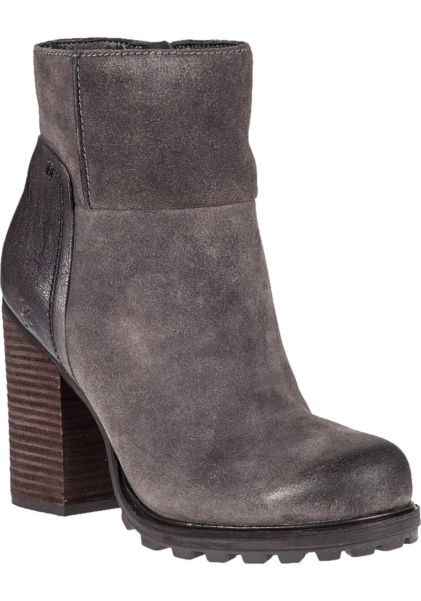 sam edelman franklin ankle boot grigio grey suede in gray