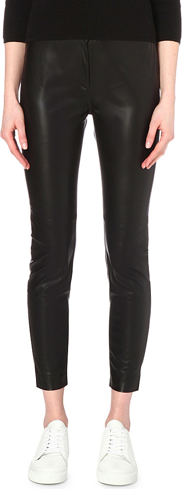b4c380c3585 Gallery. Previously sold at: Selfridges · Women's Faux Leather Trousers ...