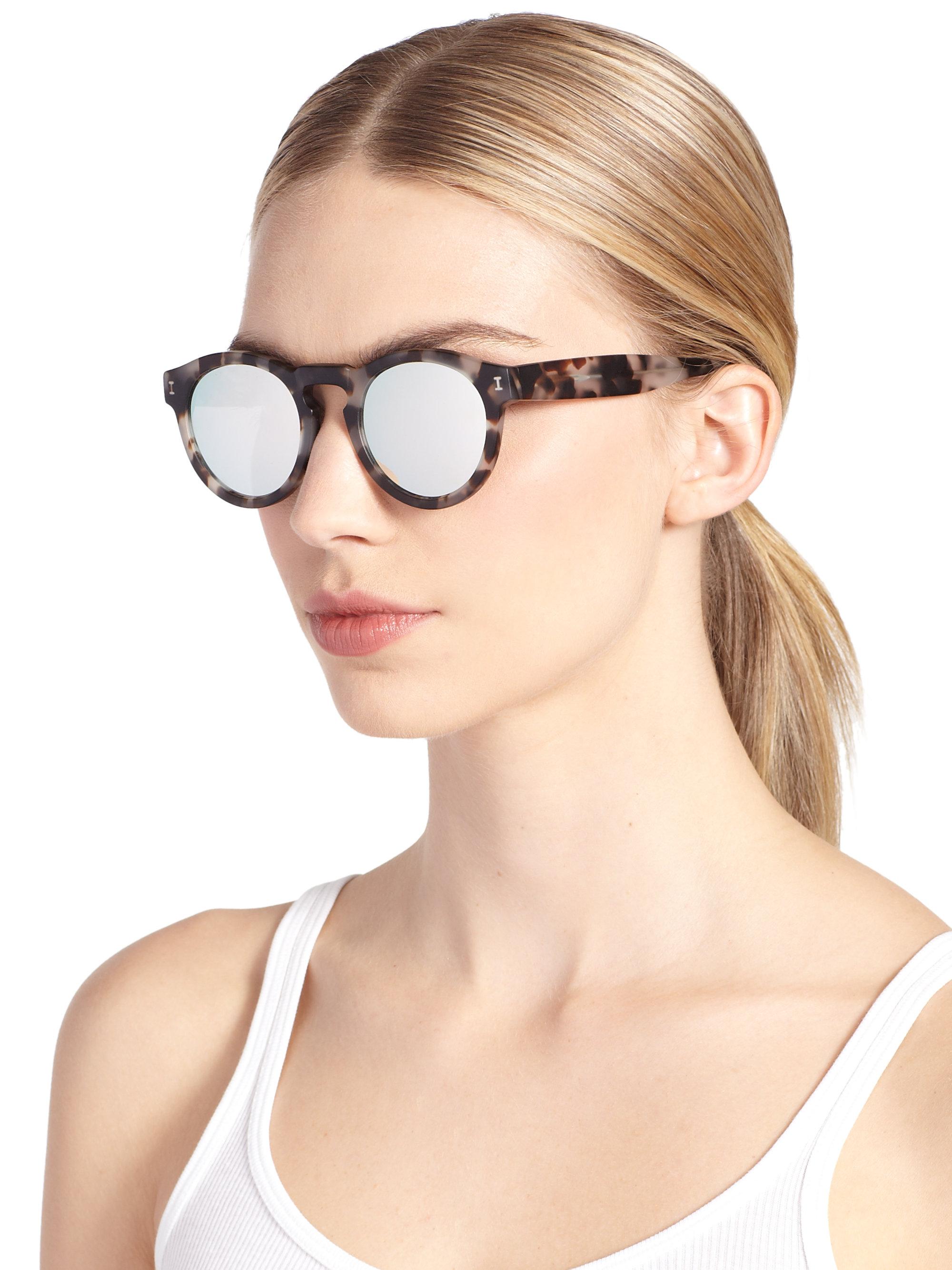 10c1018853c Illesteva Leonard Mirrored Sunglasses - Bitterroot Public Library