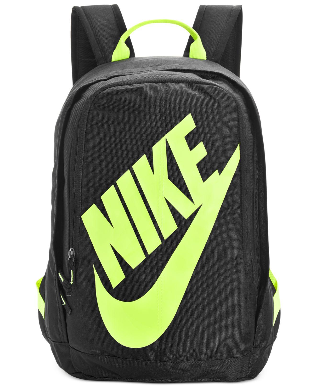 Lyst - Nike Hayward Neon Backpack in Black for Men 92e83b205664f