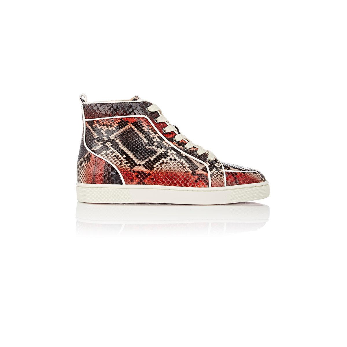 f9e625c591d Christian Louboutin - Red Men s Rantus Orlato Flat Sneakers for Men - Lyst