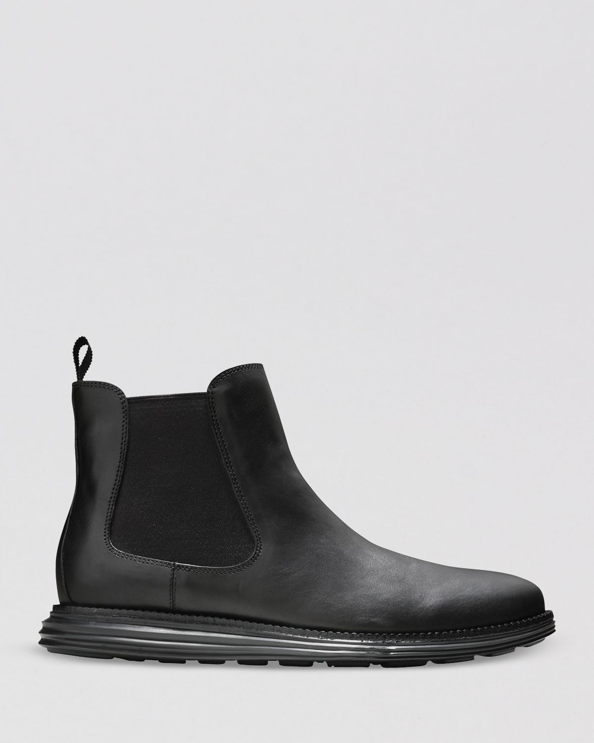 Cole Haan Lunargrand Chelsea Boots In Black For Men Lyst