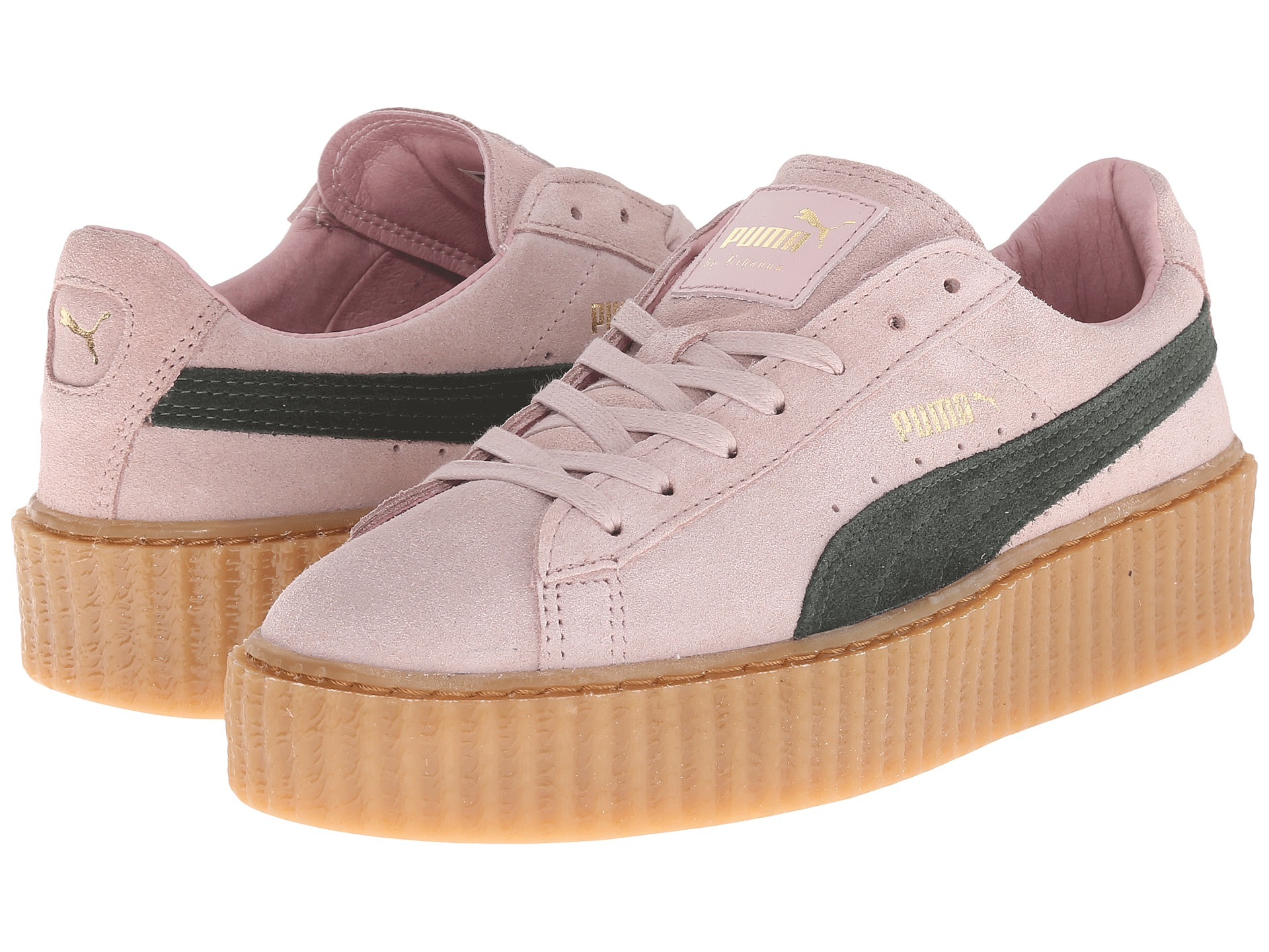 Puma Creepers Womens Pink