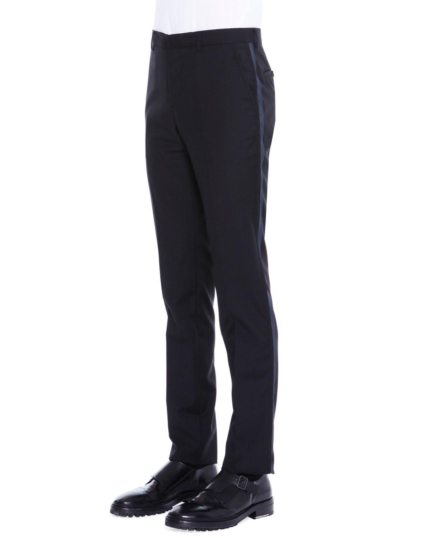 Aliexpress.com : Buy Mens Skinny Jeans Pant Side Striped