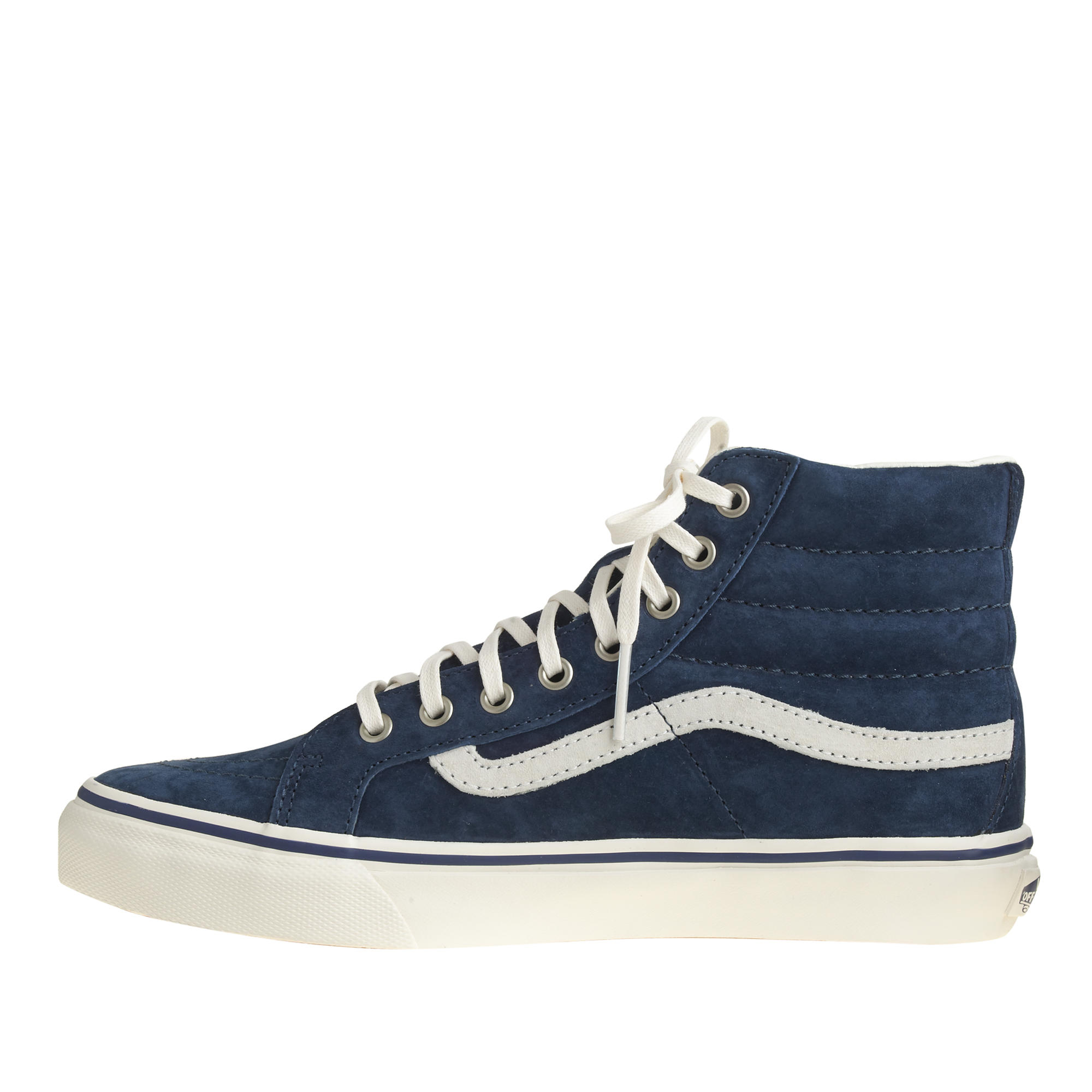f41dfec938c160 Lyst - J.Crew Unisex Vans Sk8-hi Sneakers in Blue