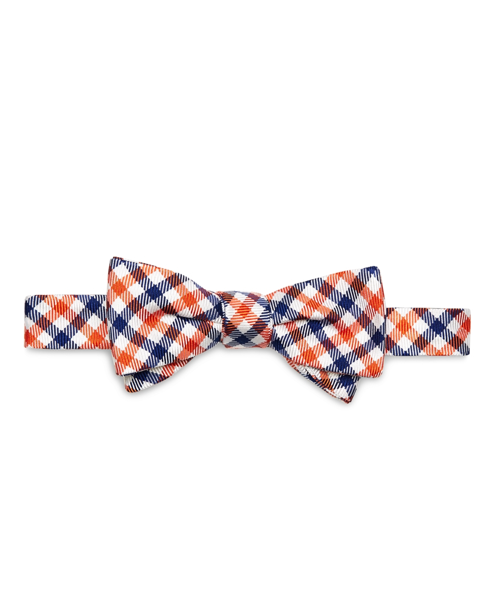 Brooks brothers Gingham Bow Tie in Blue for Men | Lyst