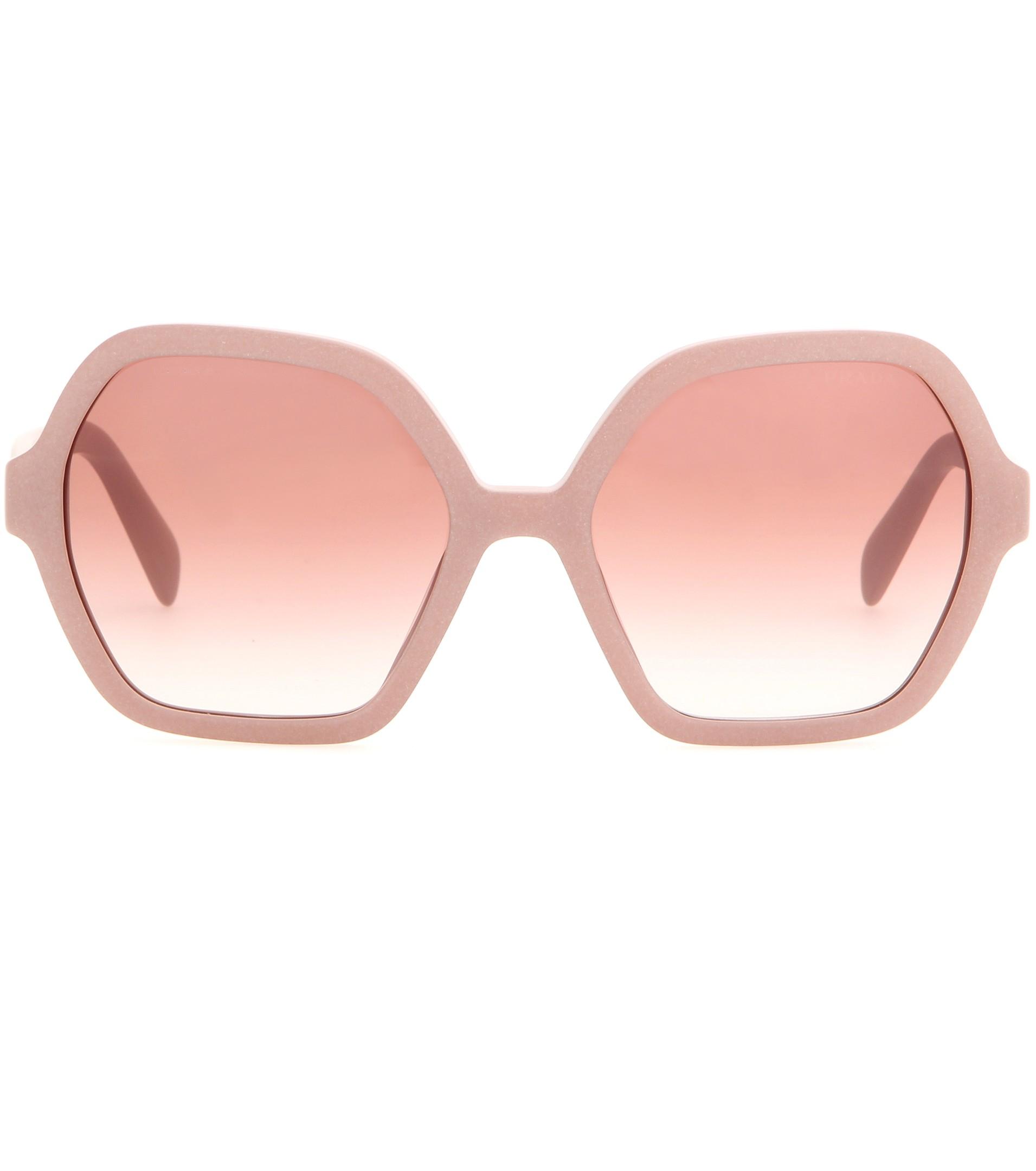 7a0936d0671 hot prada 21us womens cats eye sunglasses 3c39f b6899  best lyst prada  sunglasses in pink de258 b1a6a