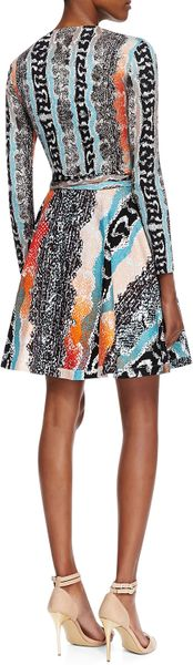 Dvf Amelia Python Print Dress Sleeve Snake Print Dress